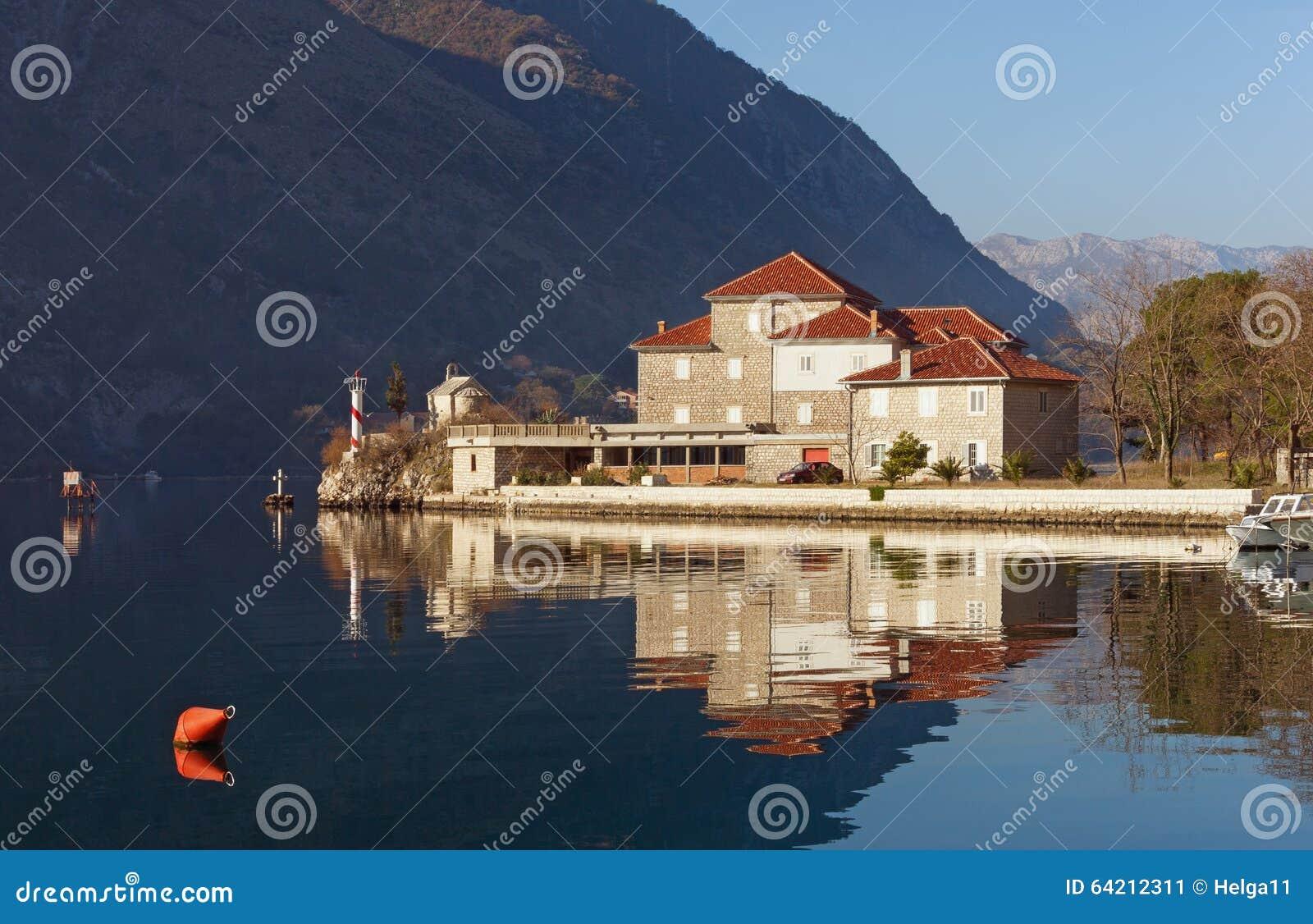 Instituto de Marine Biology Bahía de Kotor, Montenegro