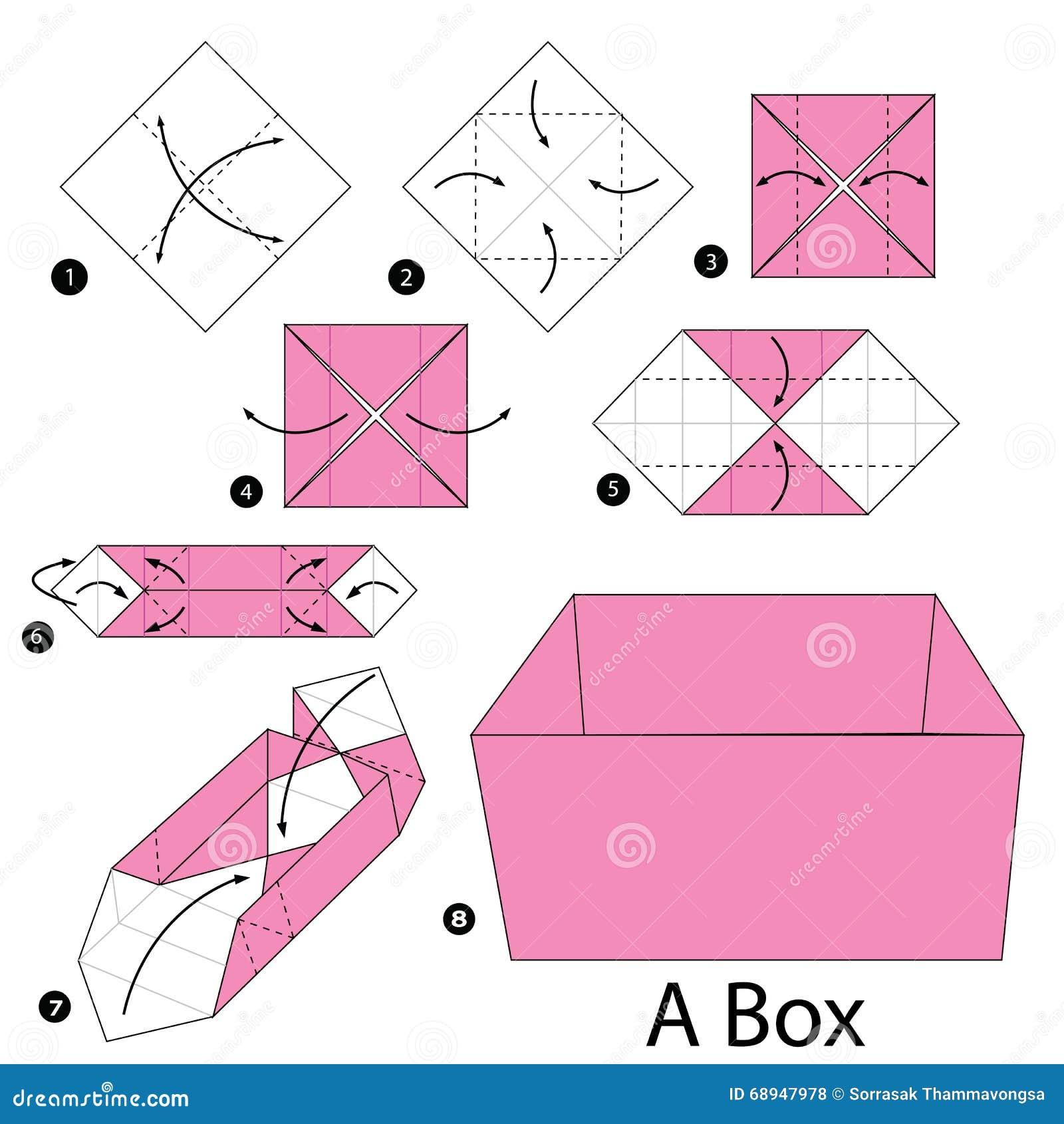Instru 231 245 Es Passo A Passo Como Fazer A Orig 226 Mi Uma Caixa