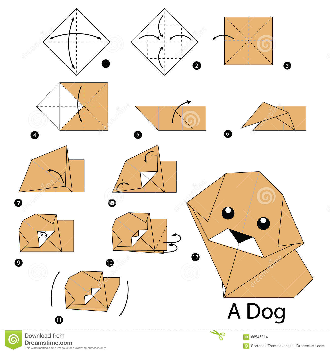 Origami Jumping Frog Instructions Easy
