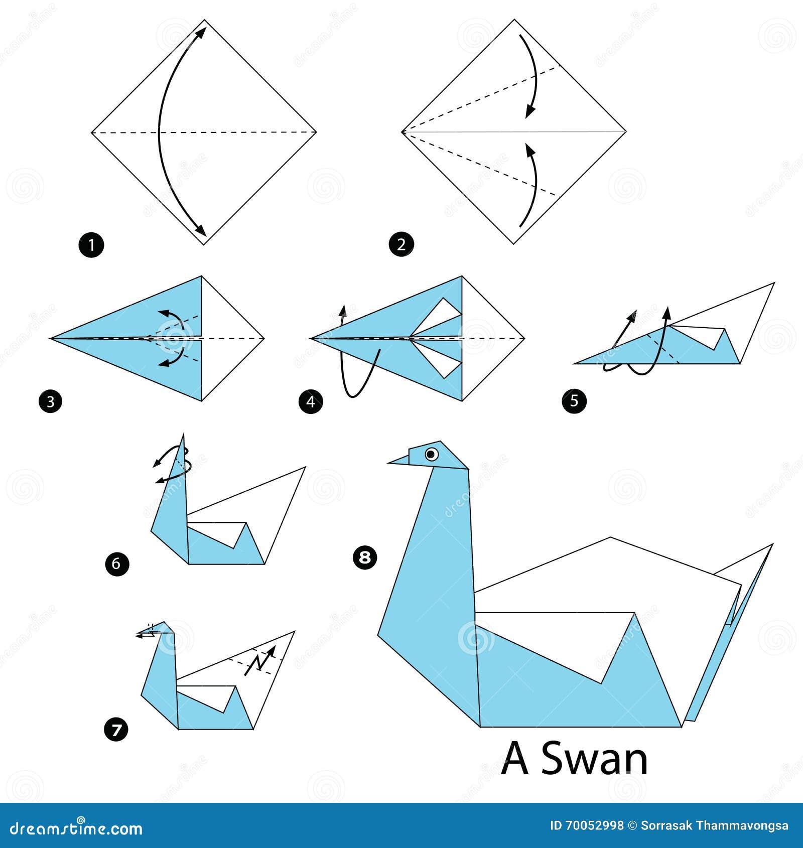 Origami Hummingbird Instructions Easy