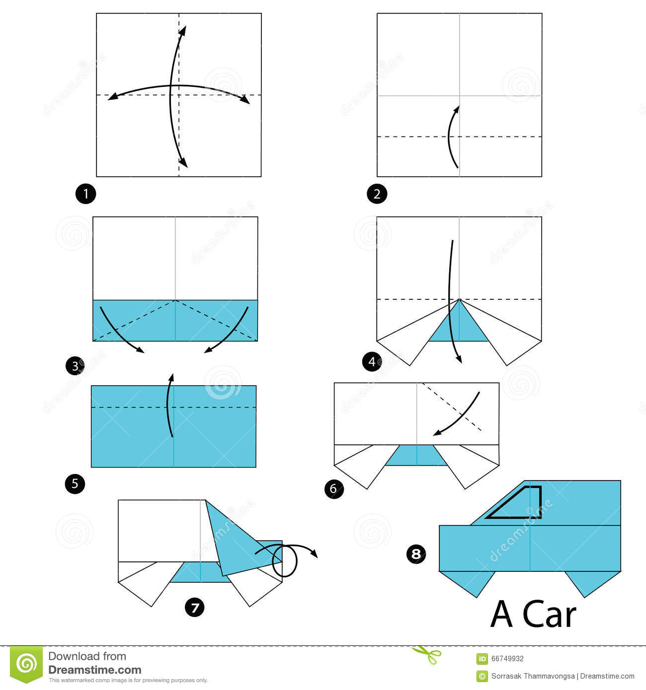 How To Origami A Car And Truck WonderHowTo