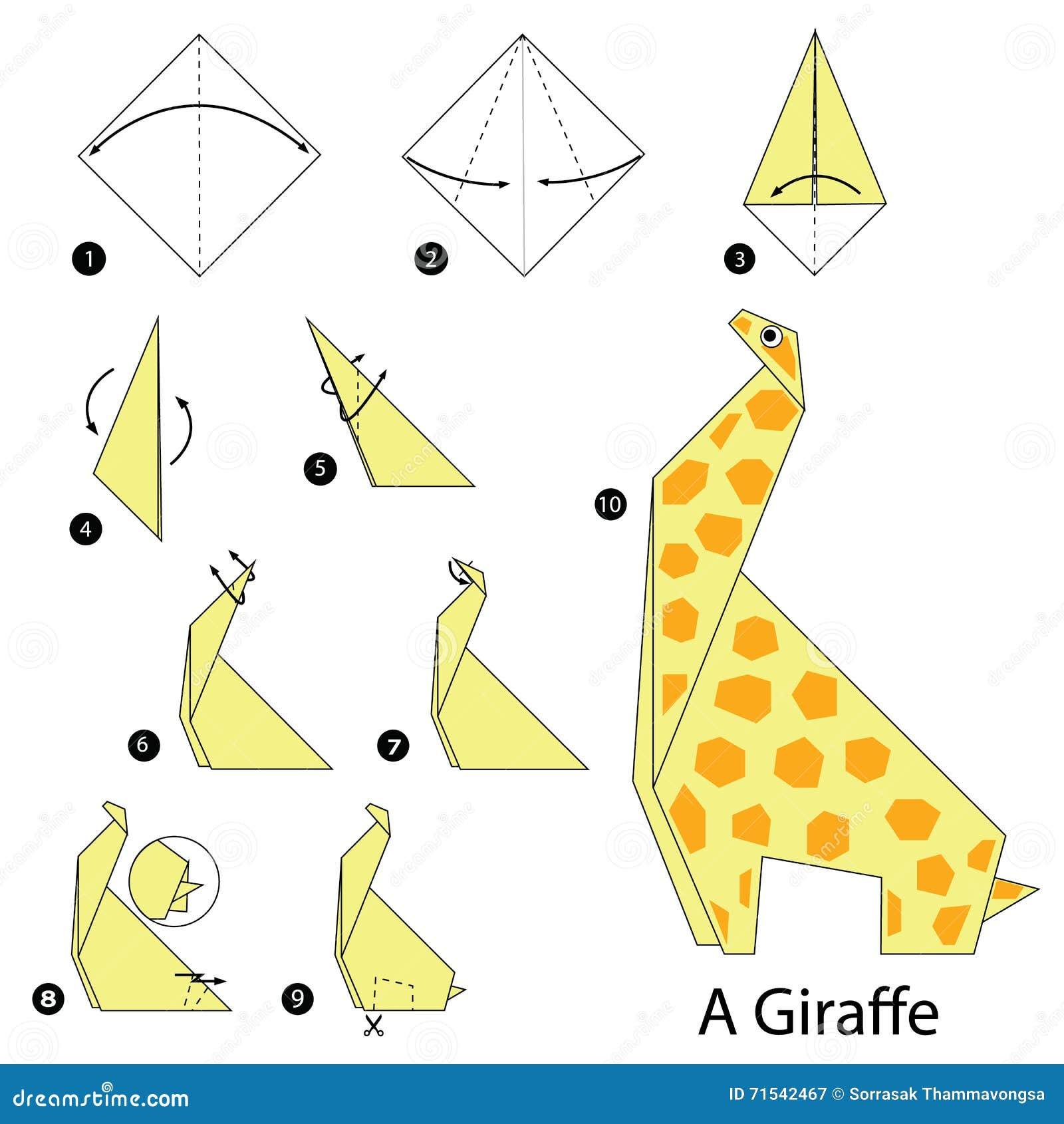 Instructions étape-par-étape Comment Faire à Origami Une ... - photo#1