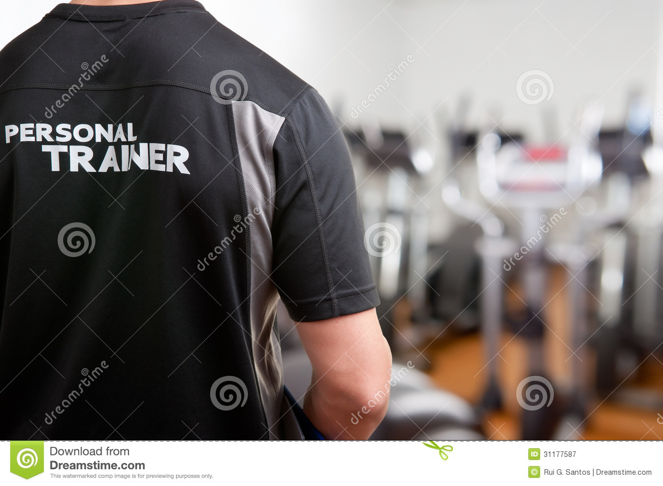 Instructor personal At The Gym
