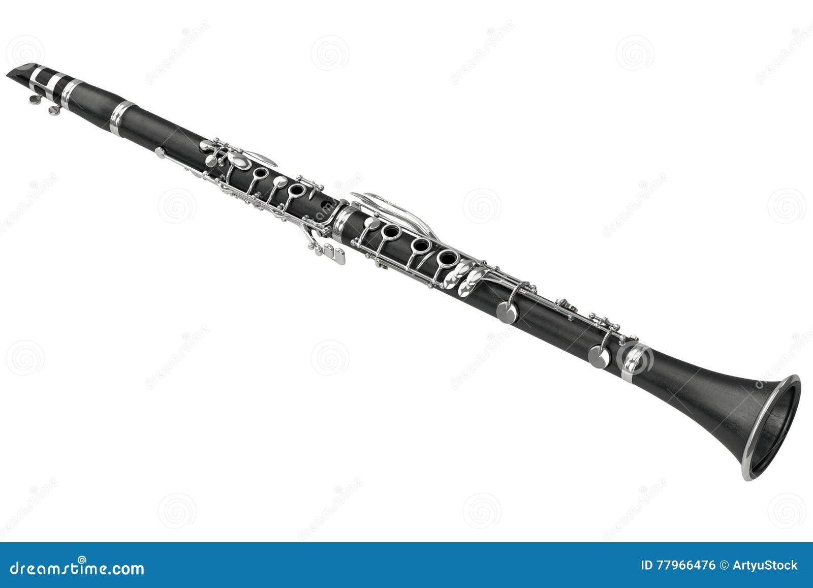 instrument de musique de vent de clarinette illustration stock illustration du coutez