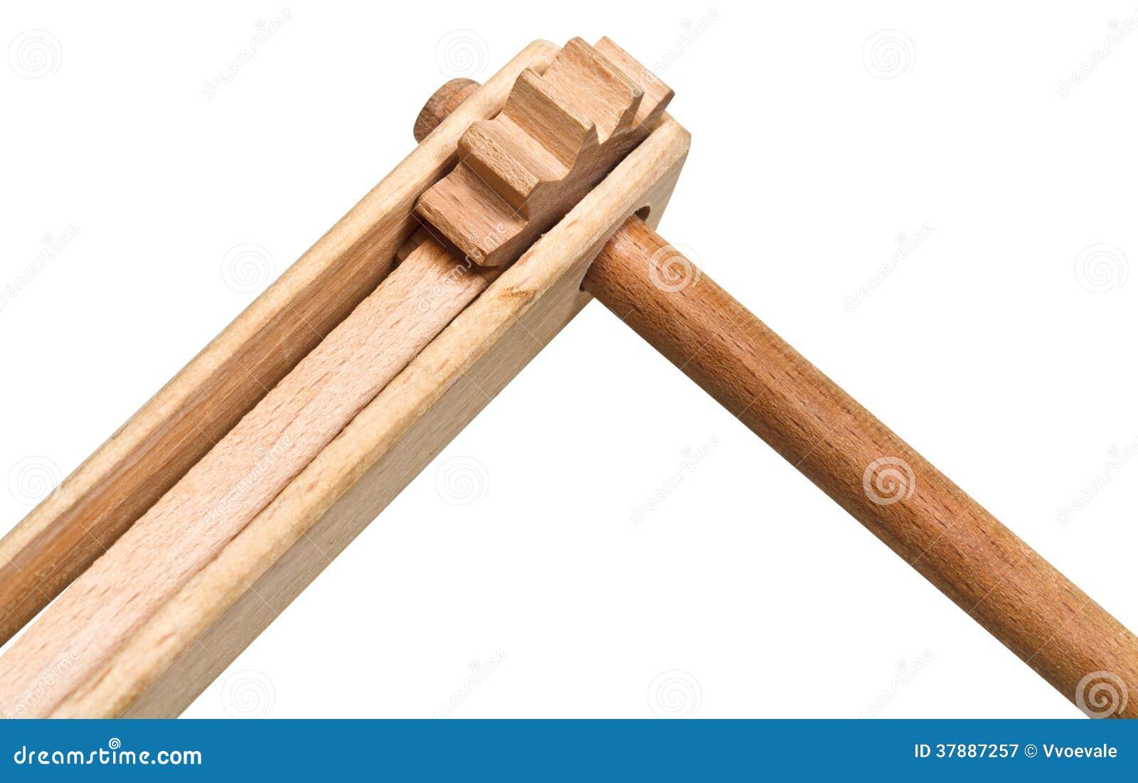 Instrument De Musique En Bois De Treshchotka (clapet  ~ Bois Instrument