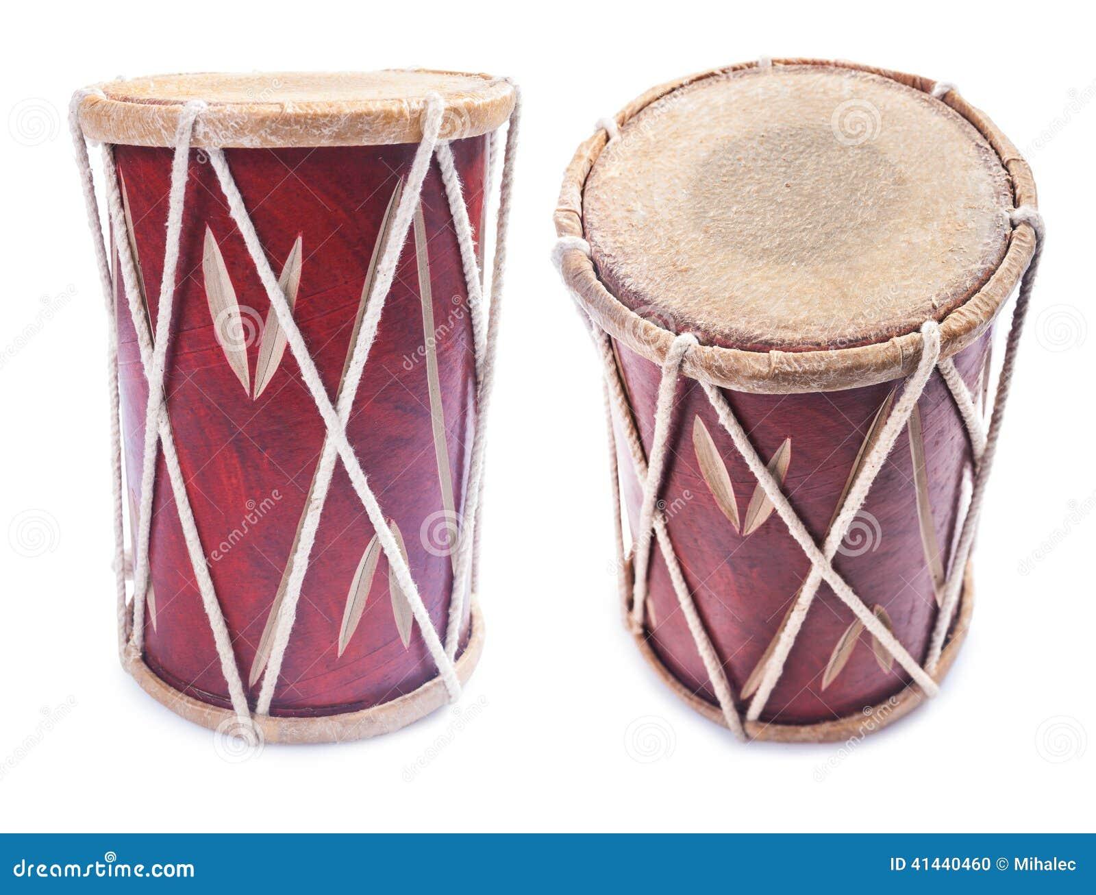 Instrument de tambour de percussion de Conga d isolement