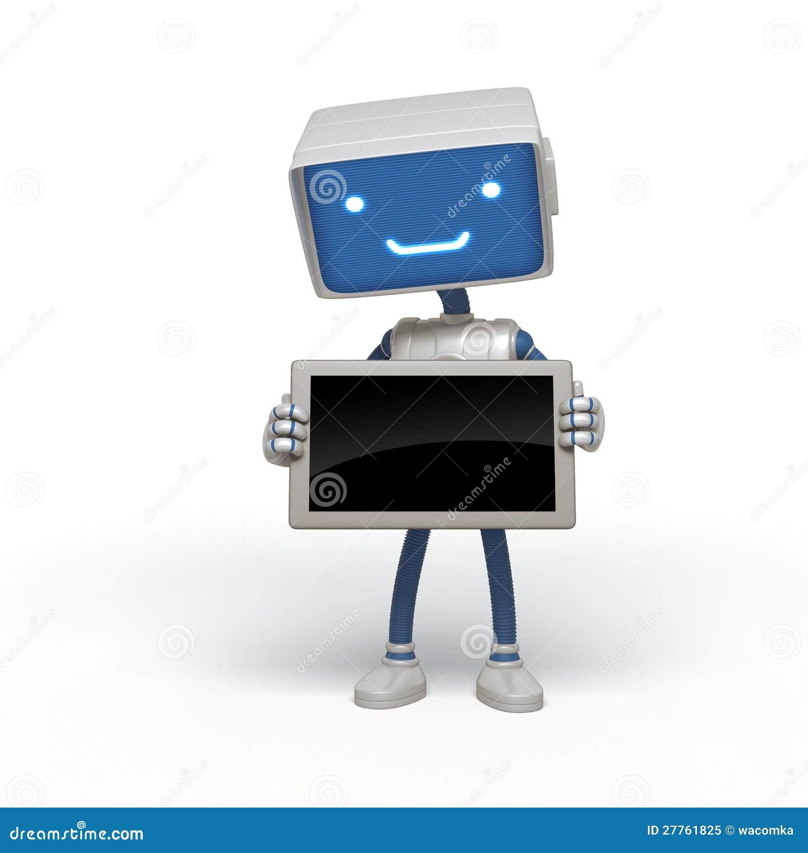 Instrument drôle de fixation de robot
