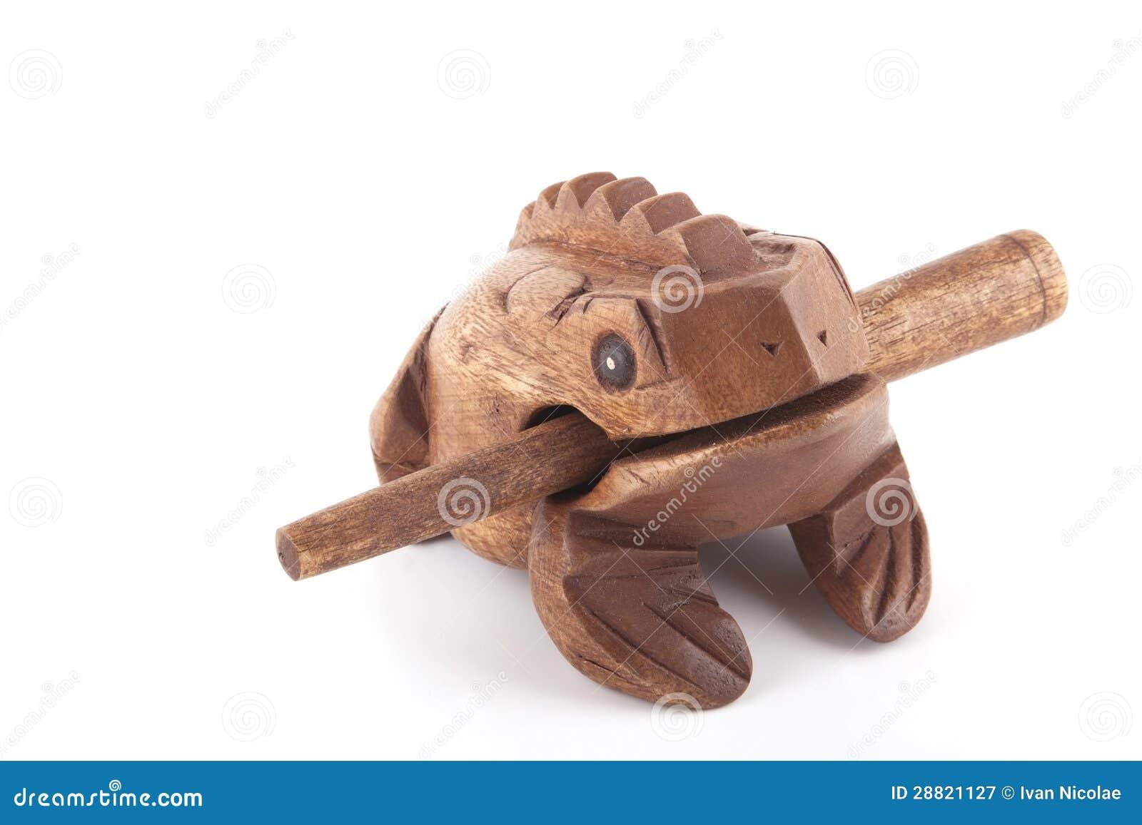 Instrument En Bois De Percusion De Rythme De Crapaud  ~ Bois Instrument