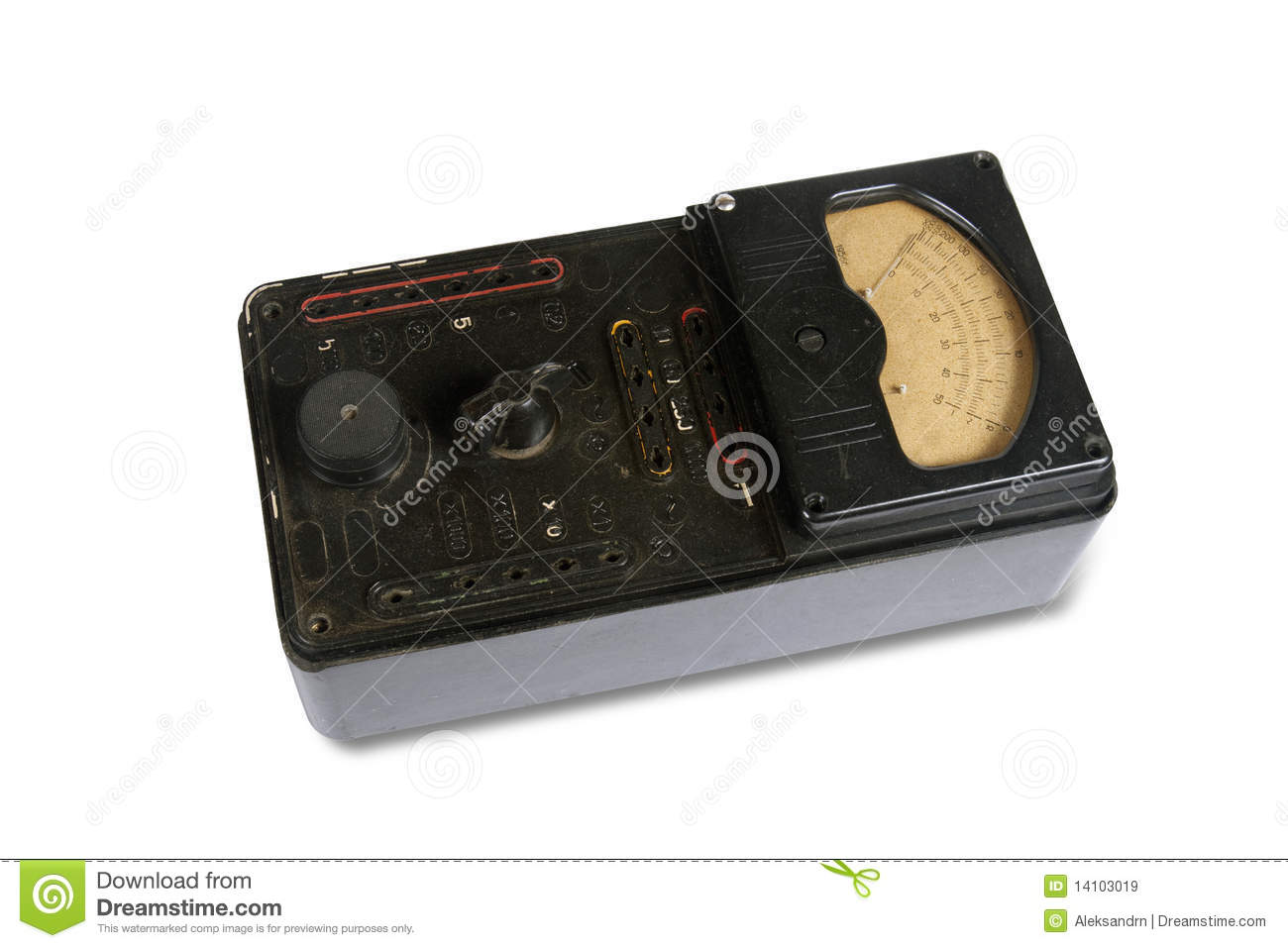 The instrument measuring electrical retro