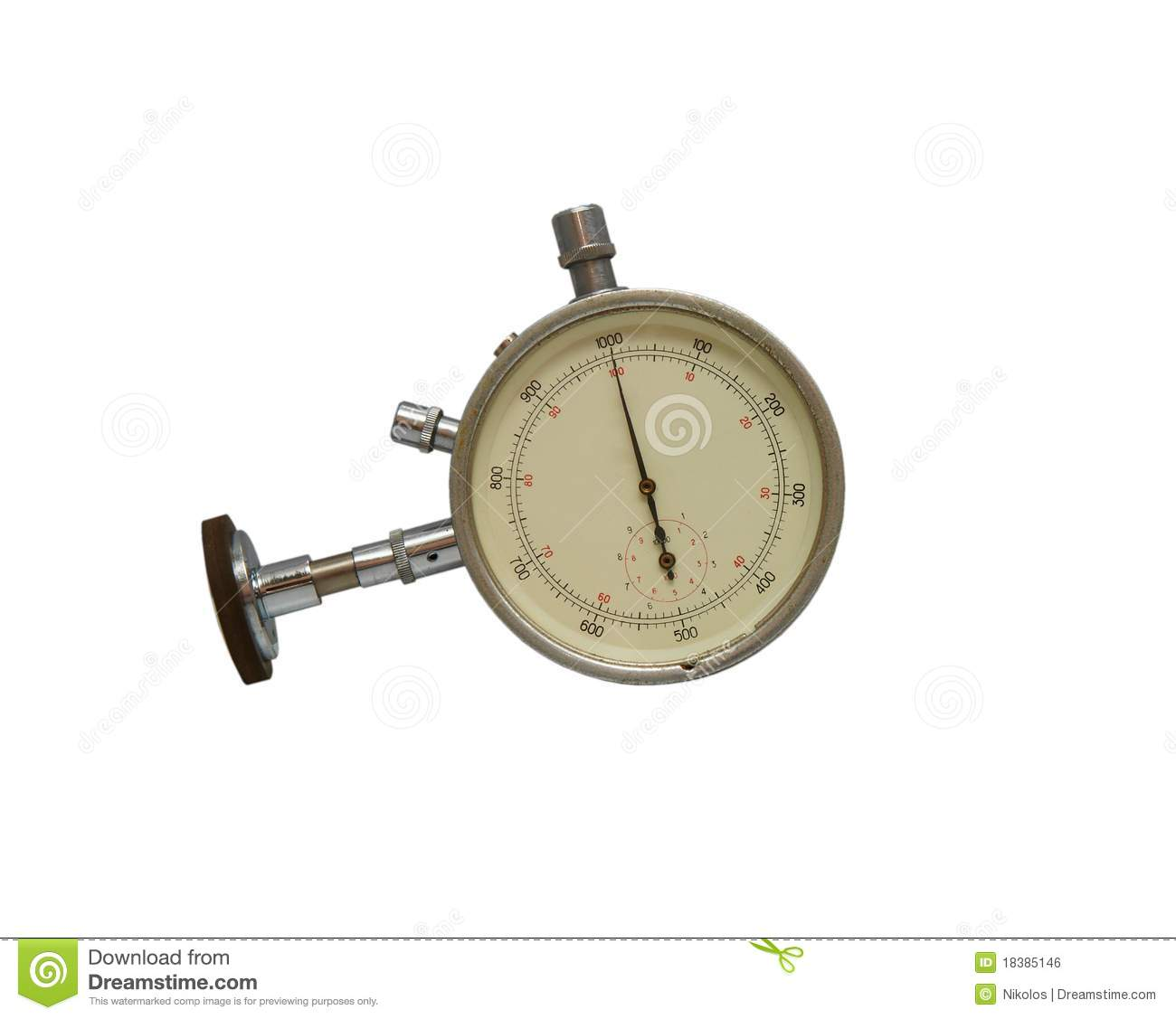 Time Measuring Instruments : Instrument for measuring speed royalty free stock image