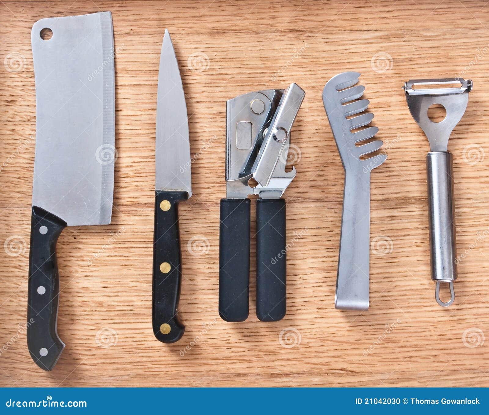 instrumentos de la cocina foto de archivo imagen 21042030