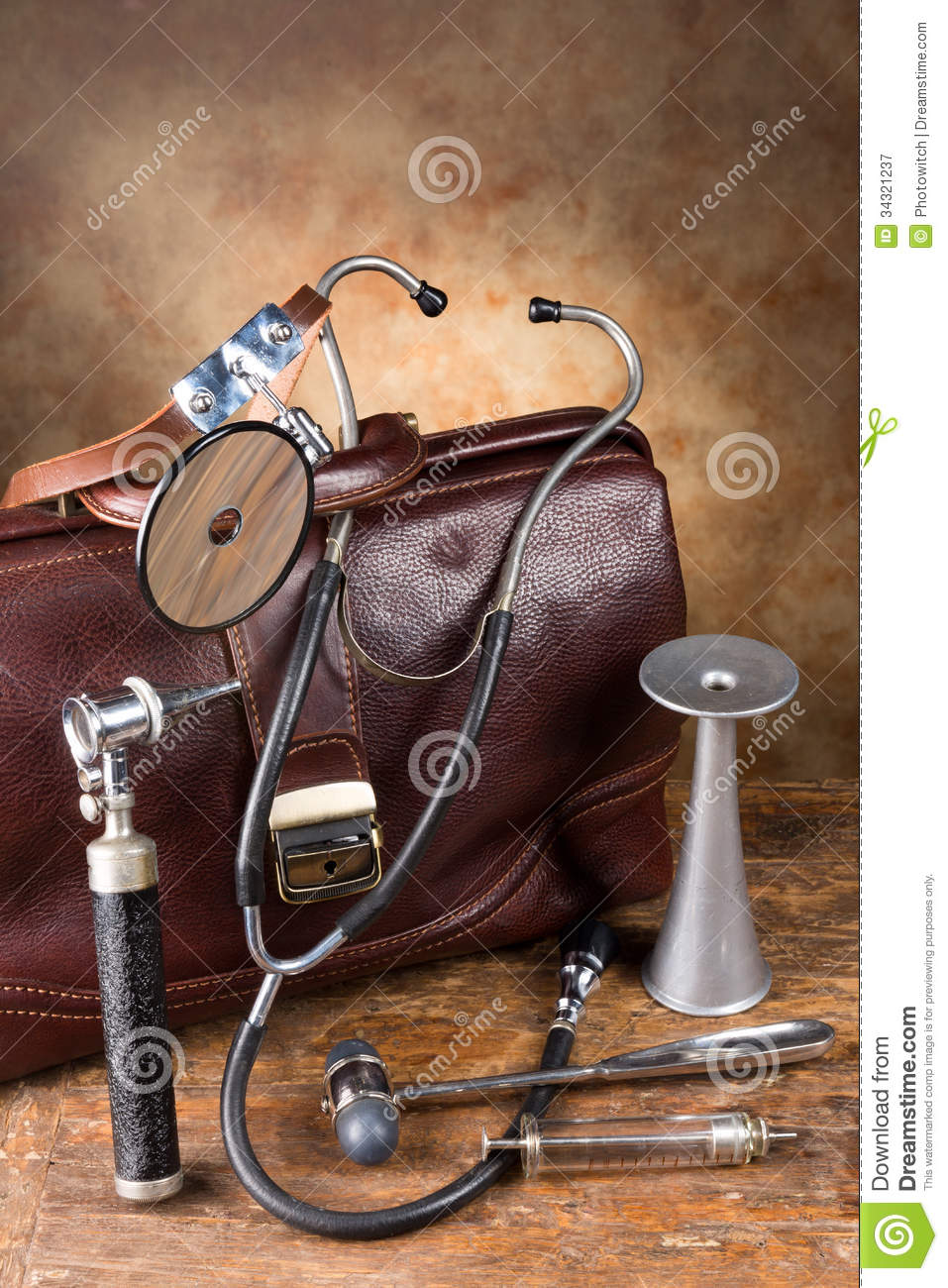 Old Fashioned Medical Tools