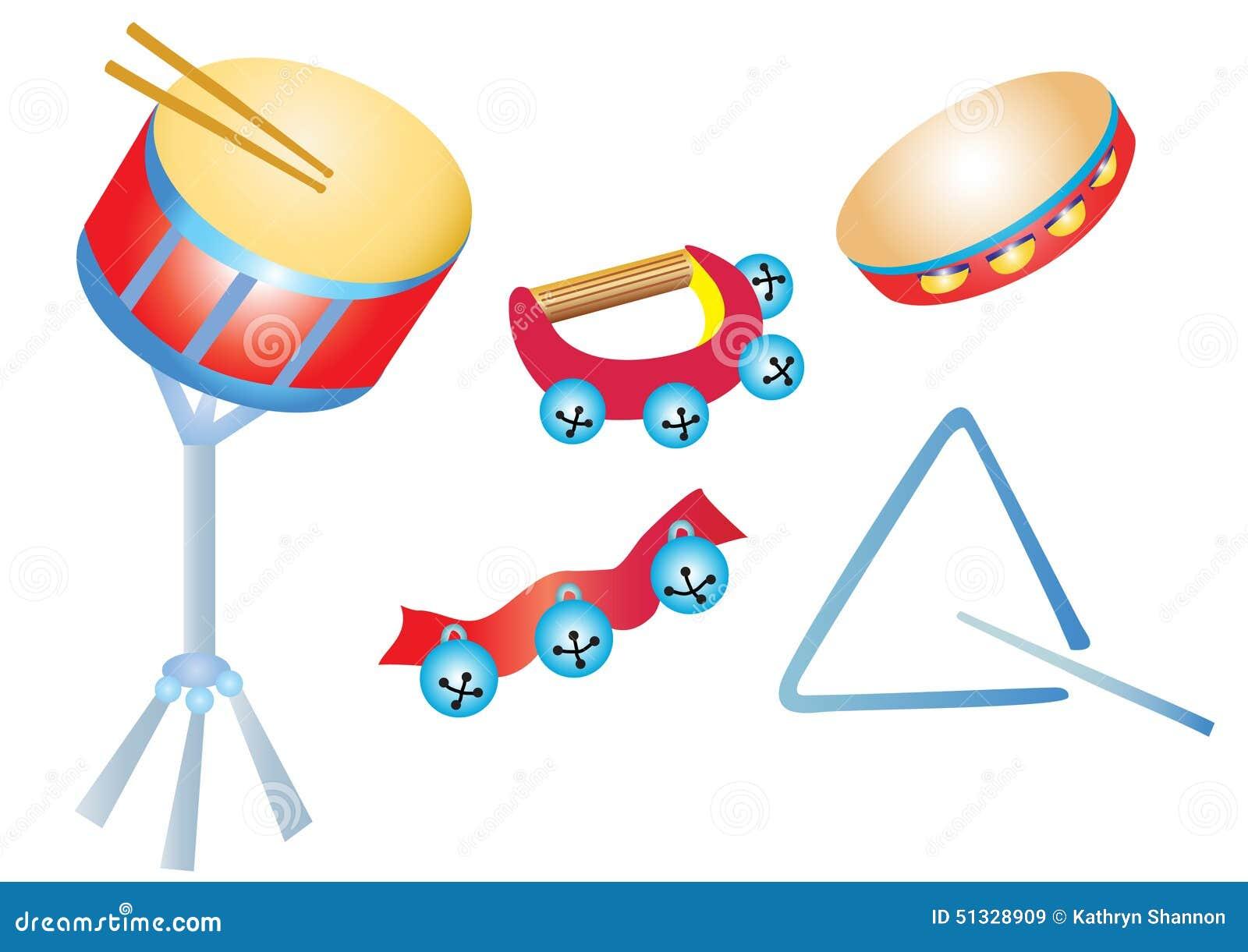 Instrumentos musicais, percussão