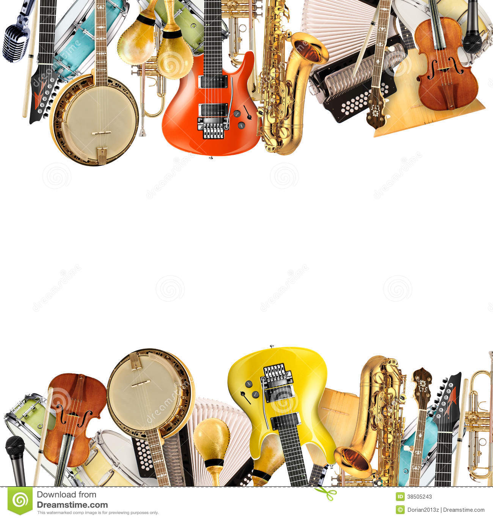 Instrumentos musicales, orquesta