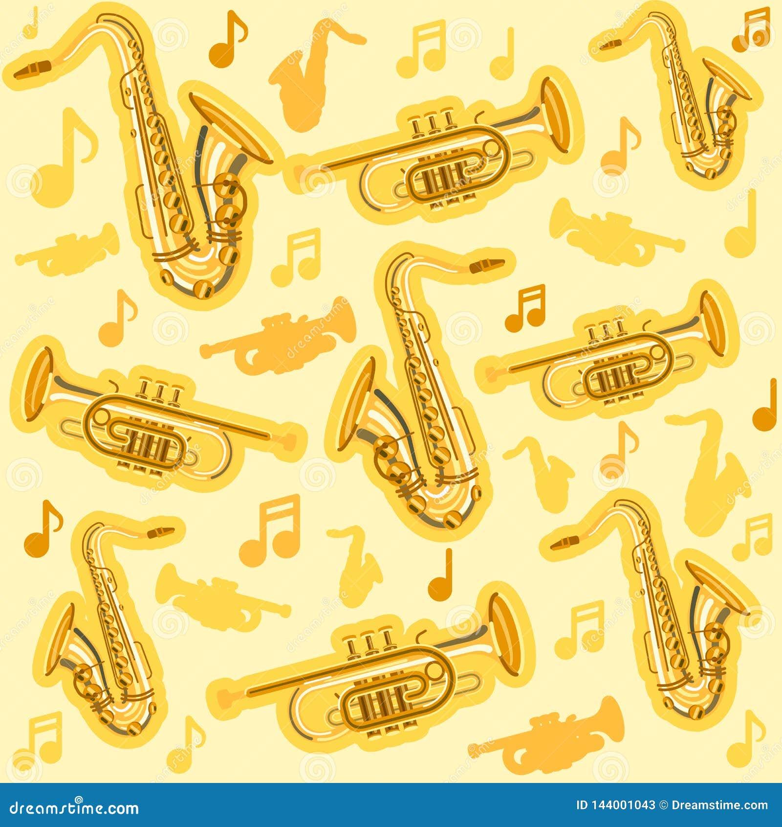 Instrumentos saxof?n de Musicial y modelo del cucurucho