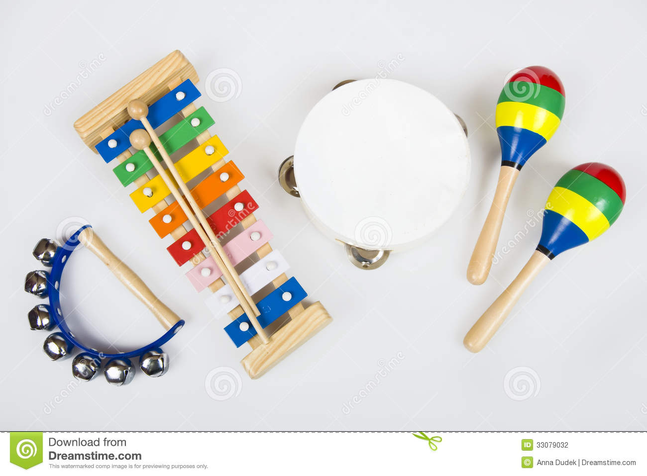 Instruments For Children Stock Photography Image 33079032