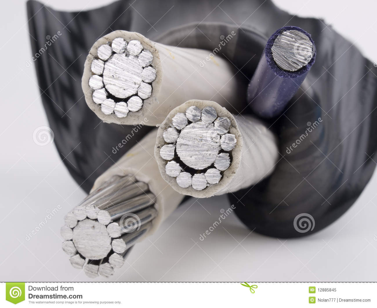 Insulated power cable