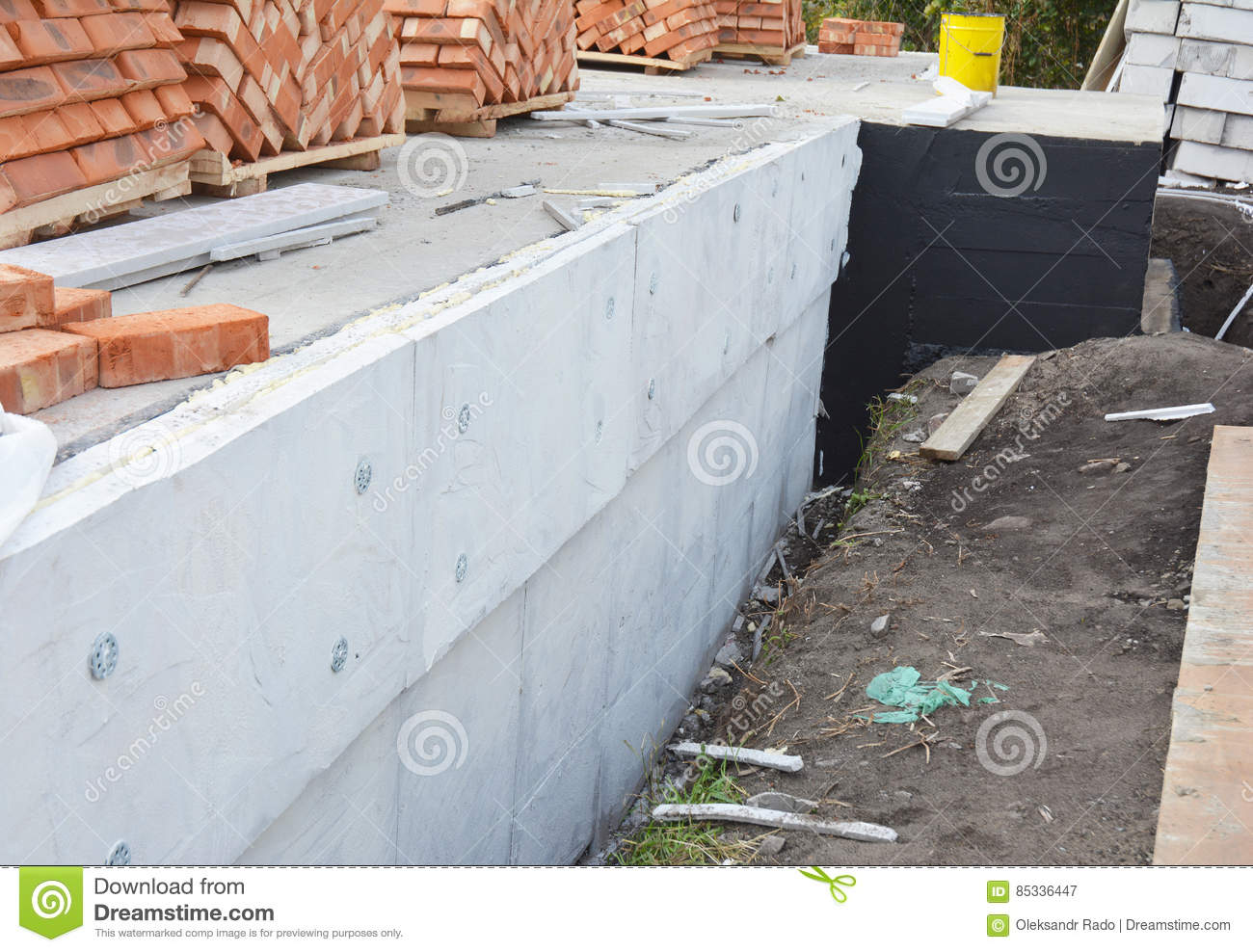 Exterior Stone Foundation Waterproofing