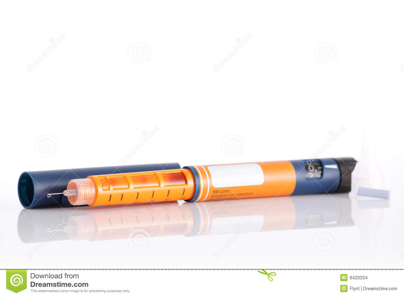 Insulin Pen Stock Images - Image: 9420334