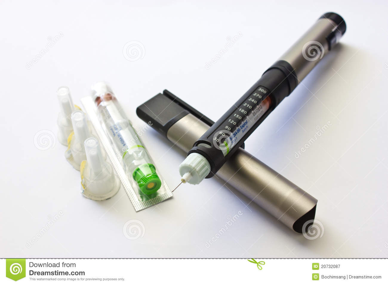 Insulin penfill stock image. Image of penfill, pharmacy