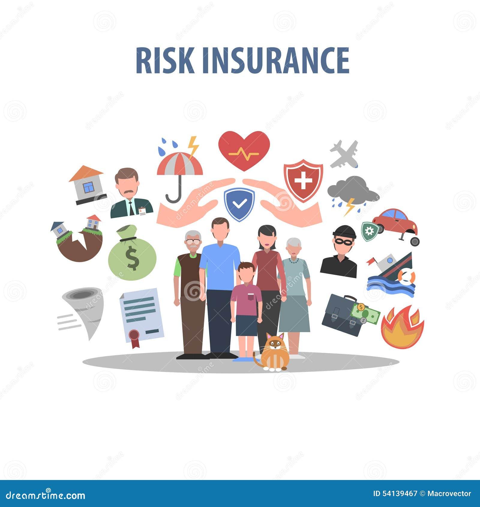 Insurance Concept Flat