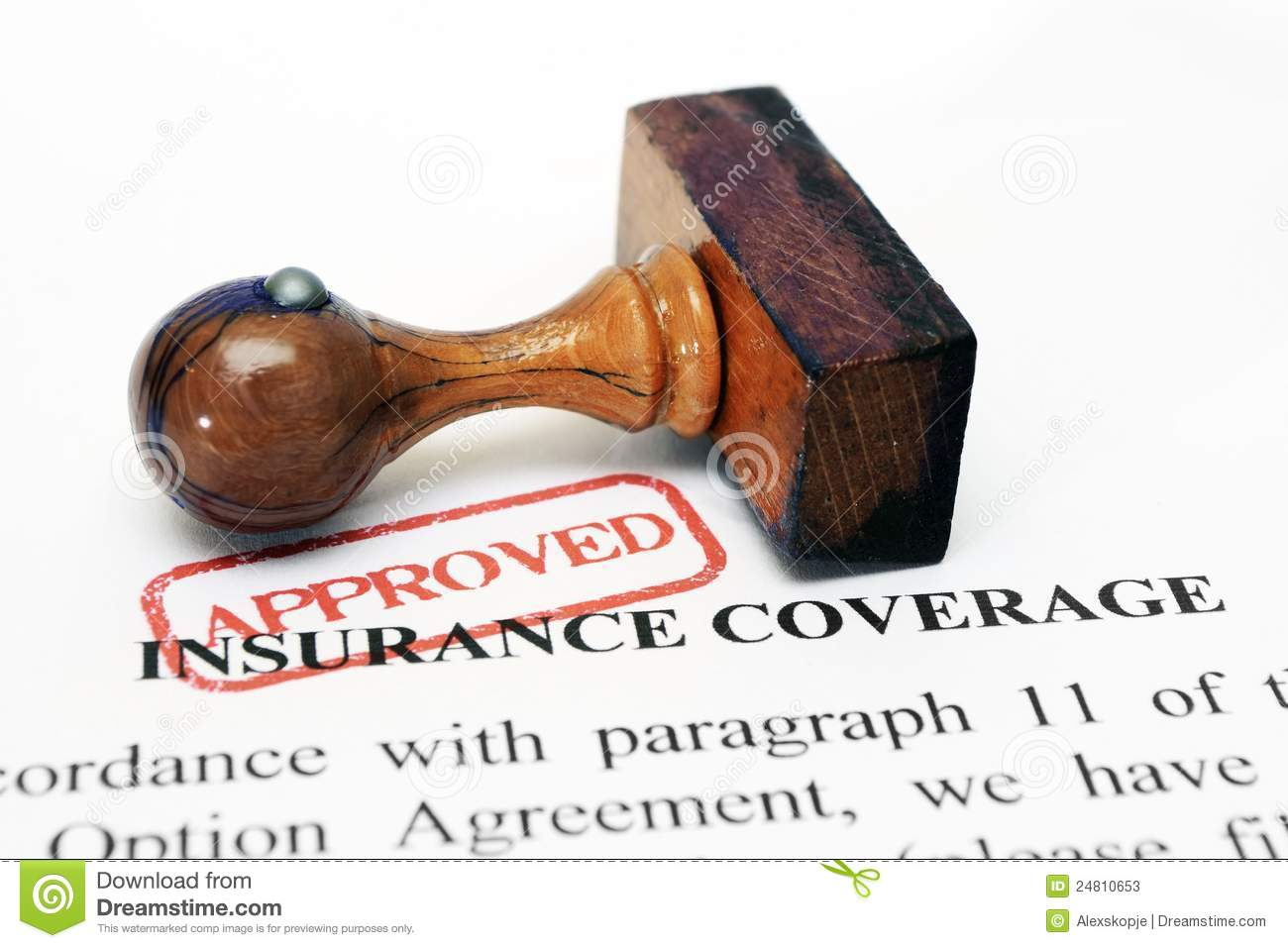 Insurance Coverage Stock Photos - Image: 24810653