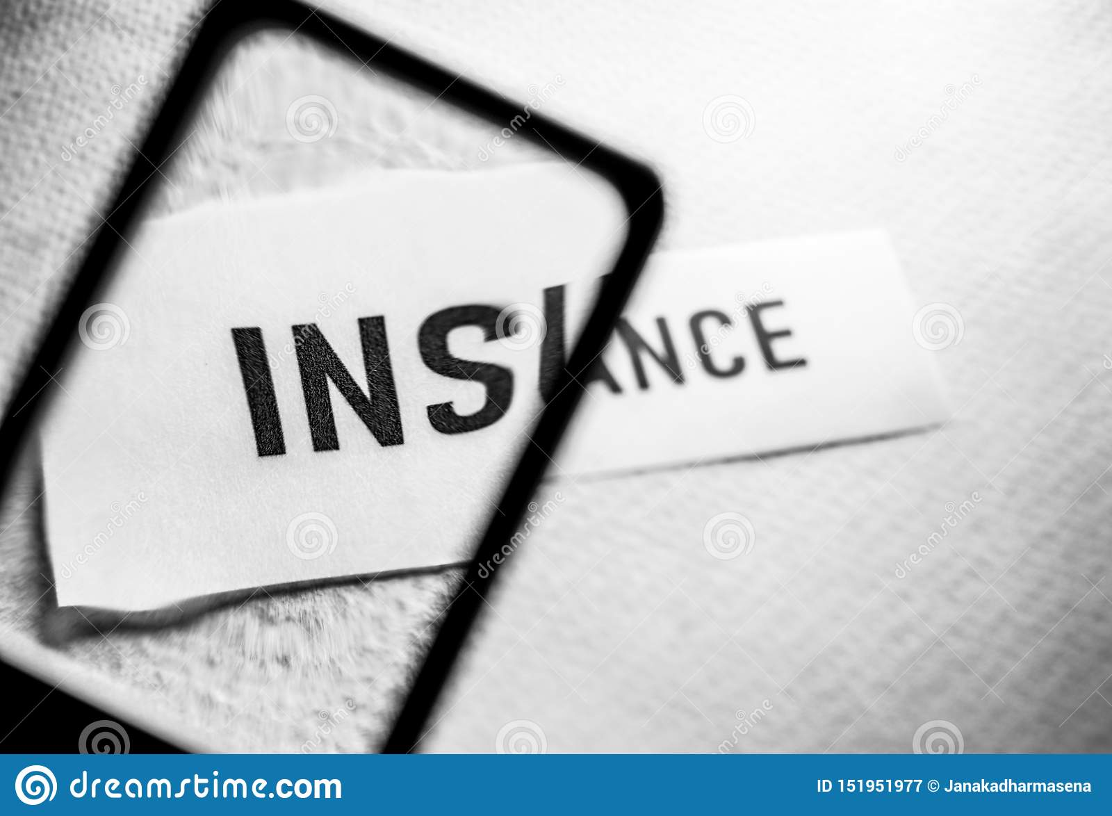 Insurance Tag label