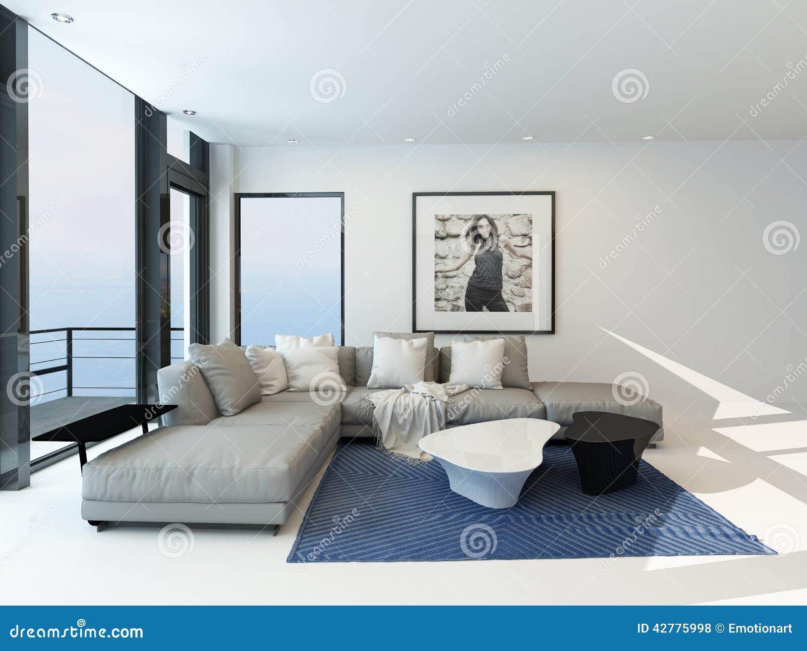 Salon interieur moderne: intérieur de salon moderne images stock ...