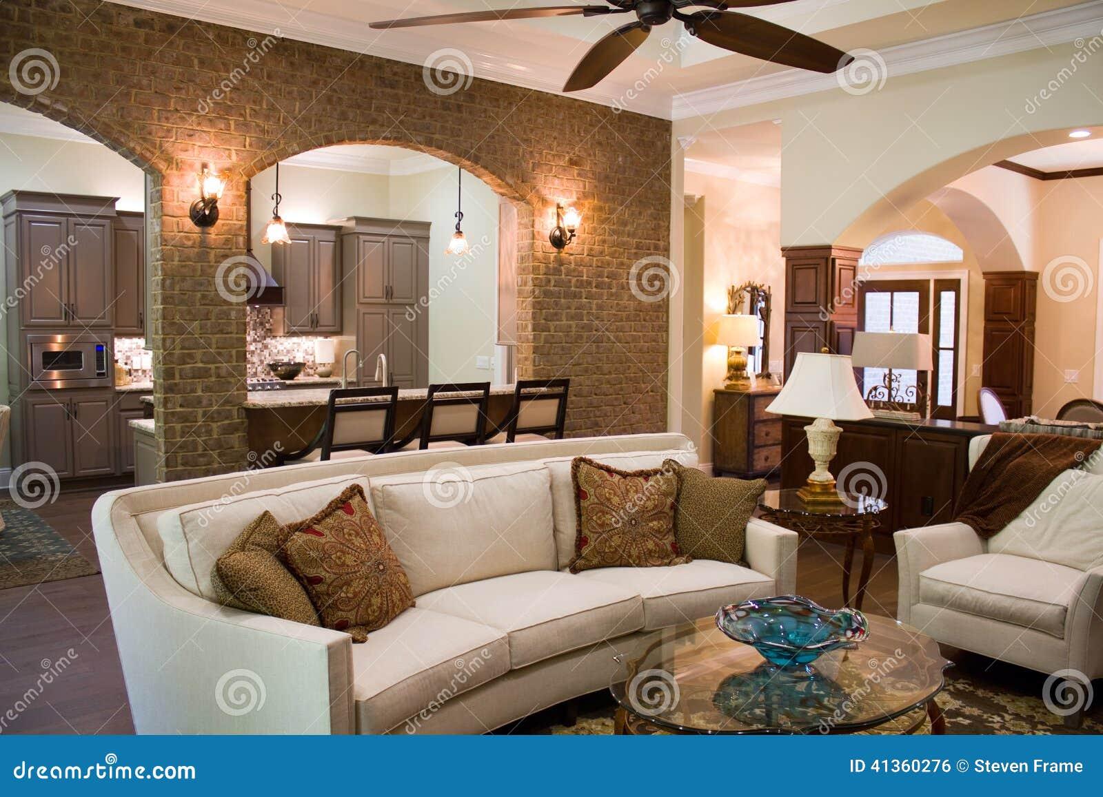 Intérieur à la maison de luxe