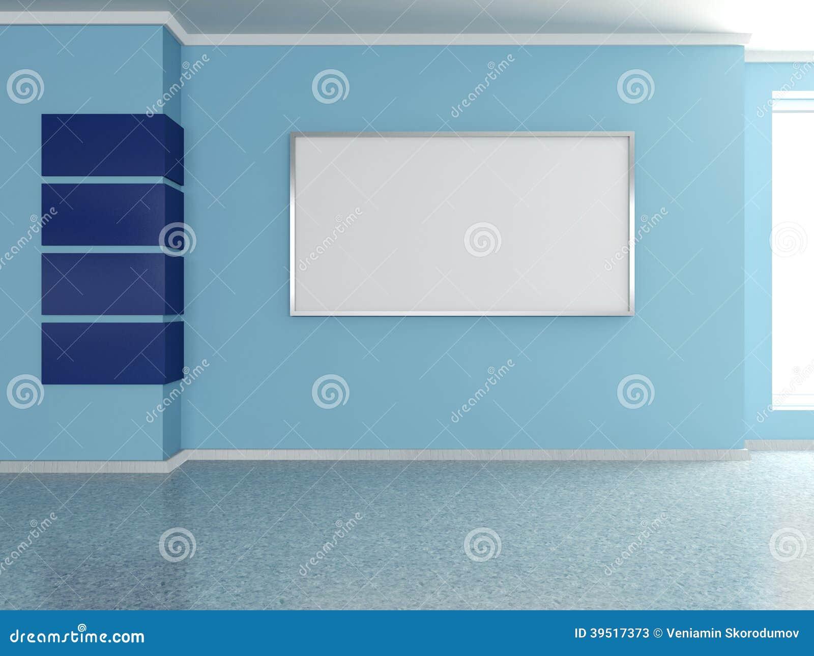 Int rieur la maison moderne avec la peinture 3d for Peinture moderne maison interieur