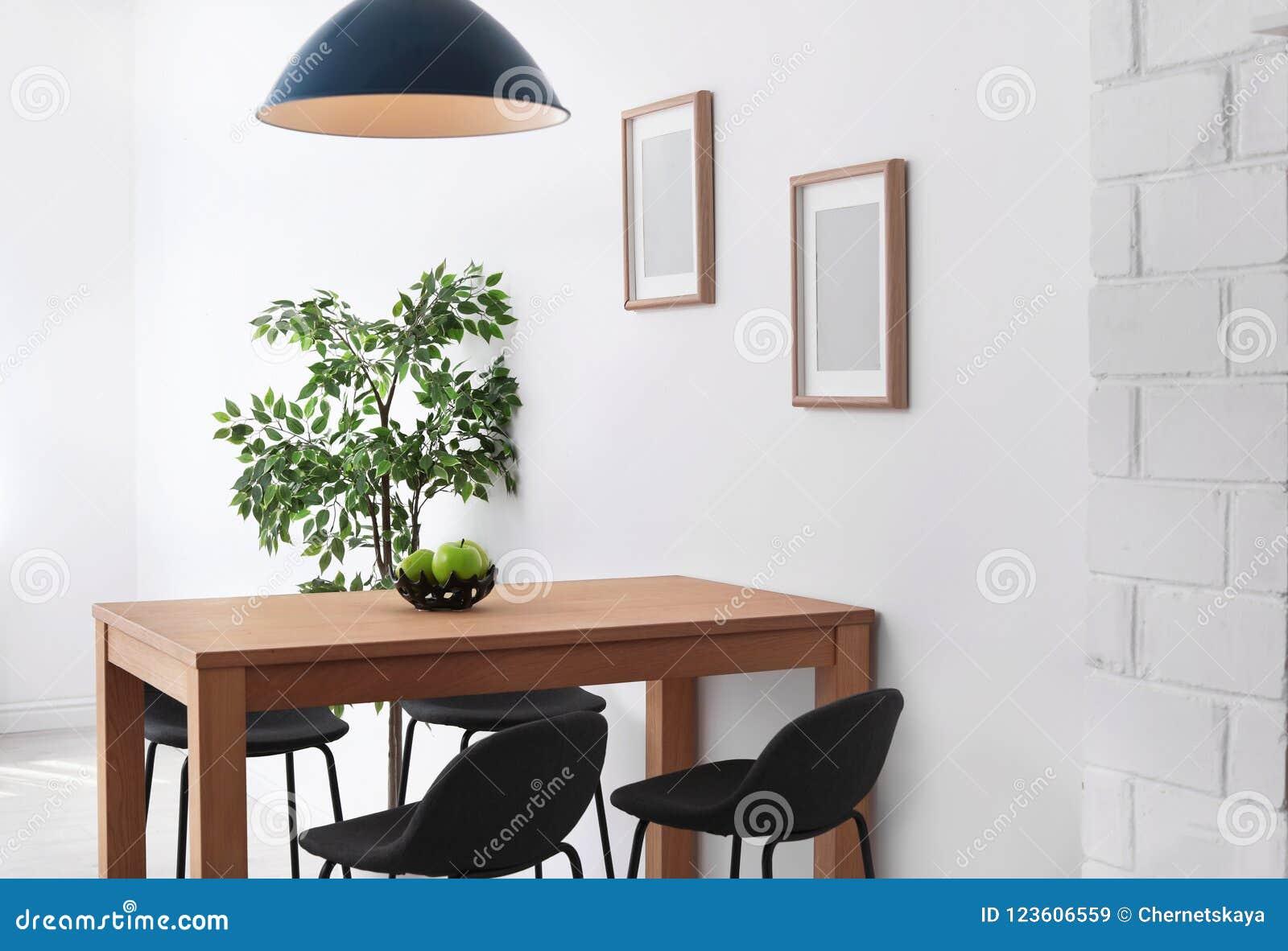 Intérieur élégant de salle à manger Idée à la maison