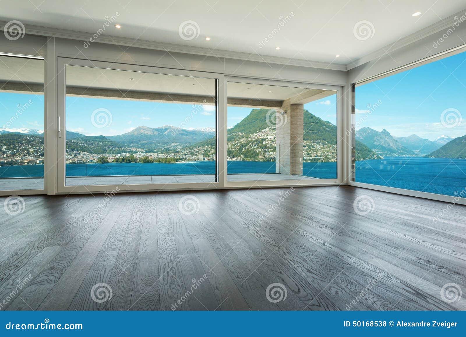 Intérieur, Belle Maison Moderne Photo stock - Image du parquet, appartement: 50168538