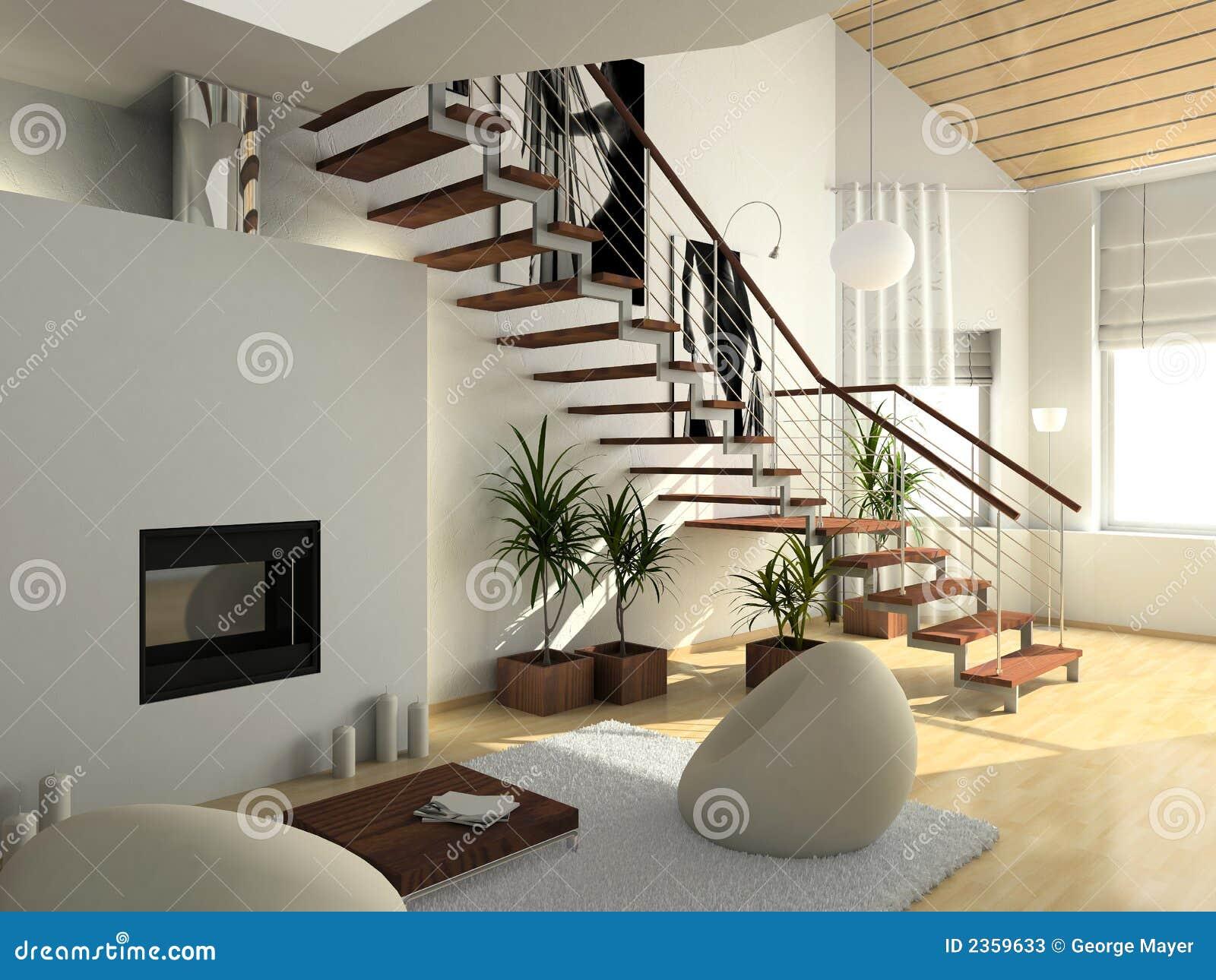 Intérieur confortable moderne