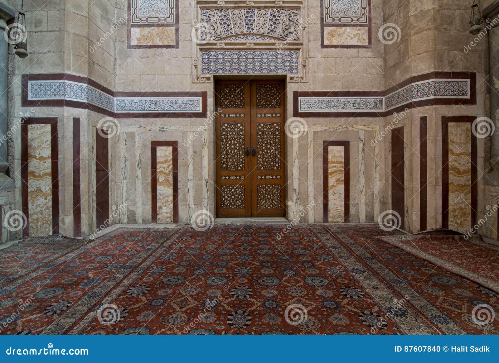 Intérieur d Al Rifaii Mosque Royal Mosque