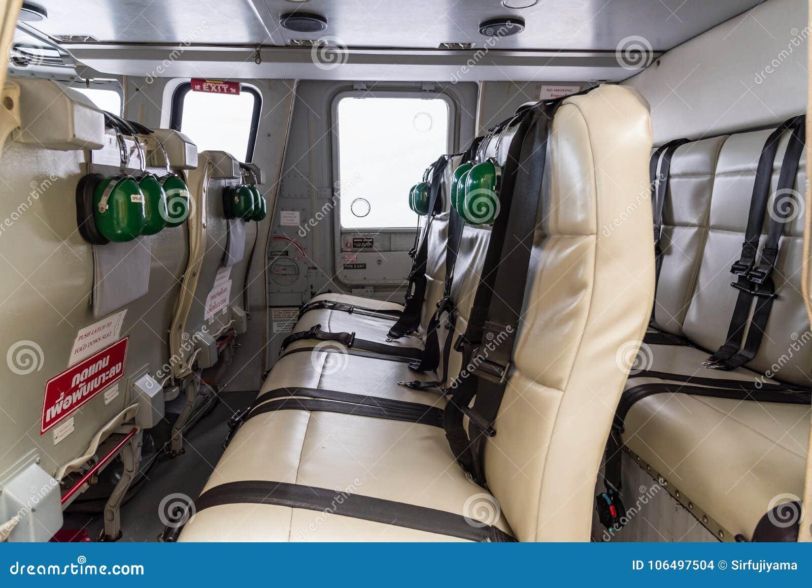 Intérieur d\'hélicoptère photo stock. Image du inside - 106497504