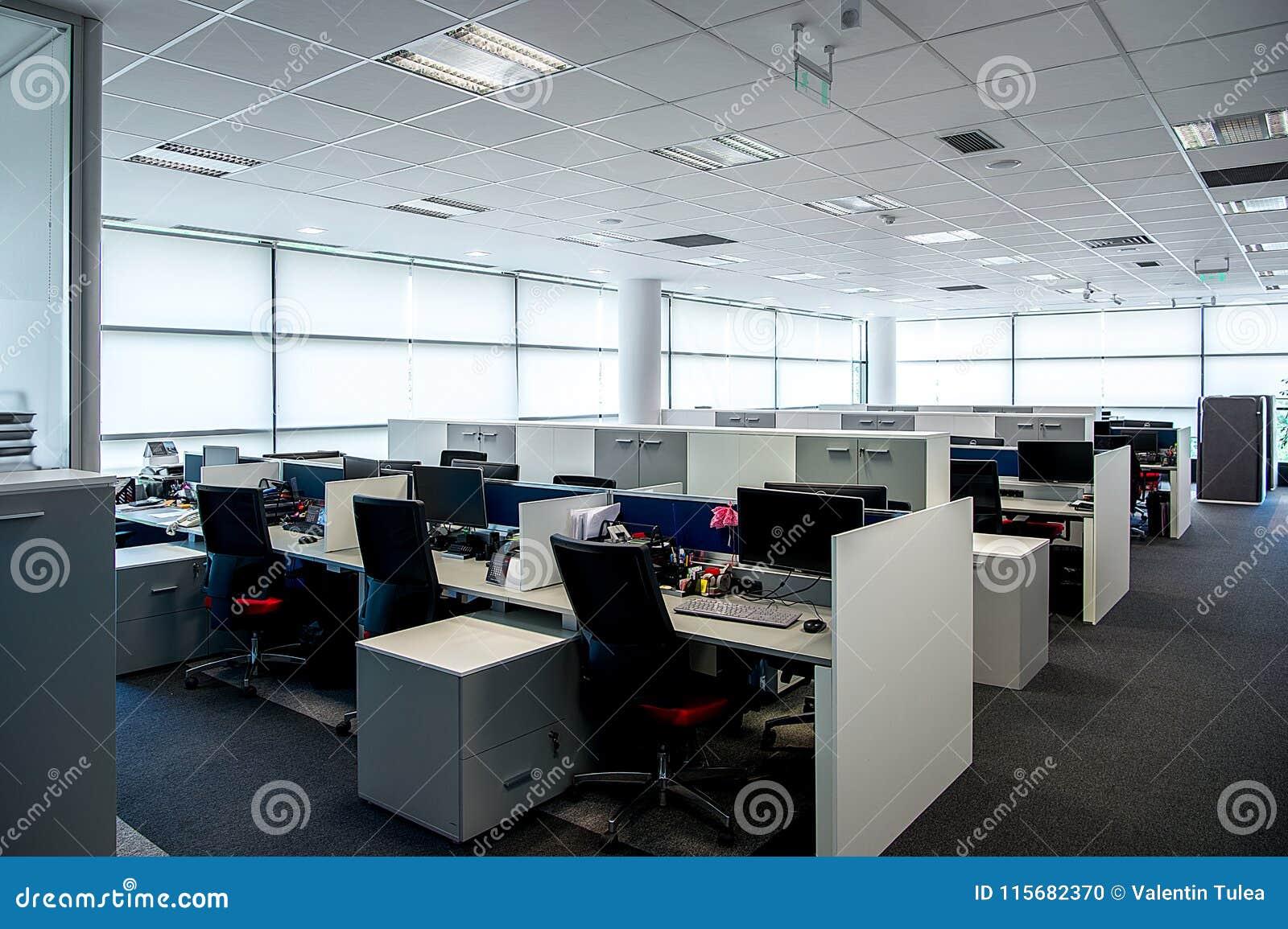 Intérieur d un bureau moderne intérieur de bureau bureau vide