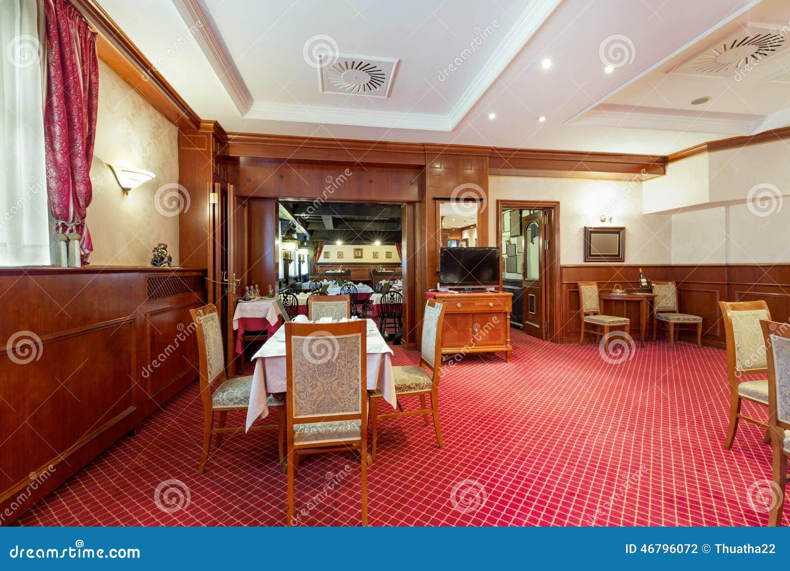 Int rieur d 39 un restaurant d 39 h tel photo stock image for Hotel interieur