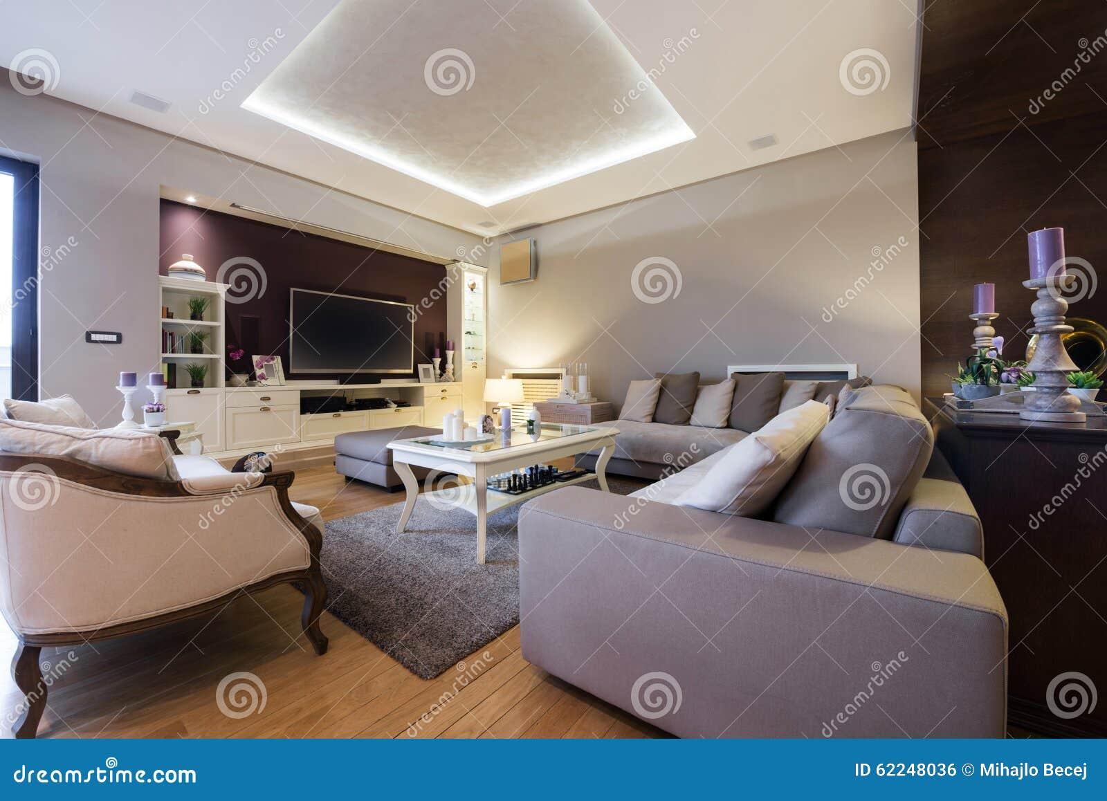 Intérieur d un salon de luxe