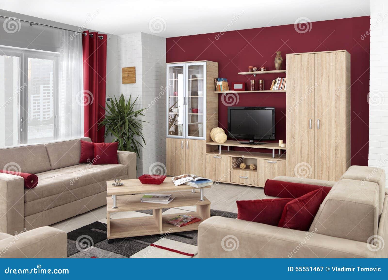 int rieur d 39 un salon moderne en couleurs image stock image du neuf tage 65551467. Black Bedroom Furniture Sets. Home Design Ideas