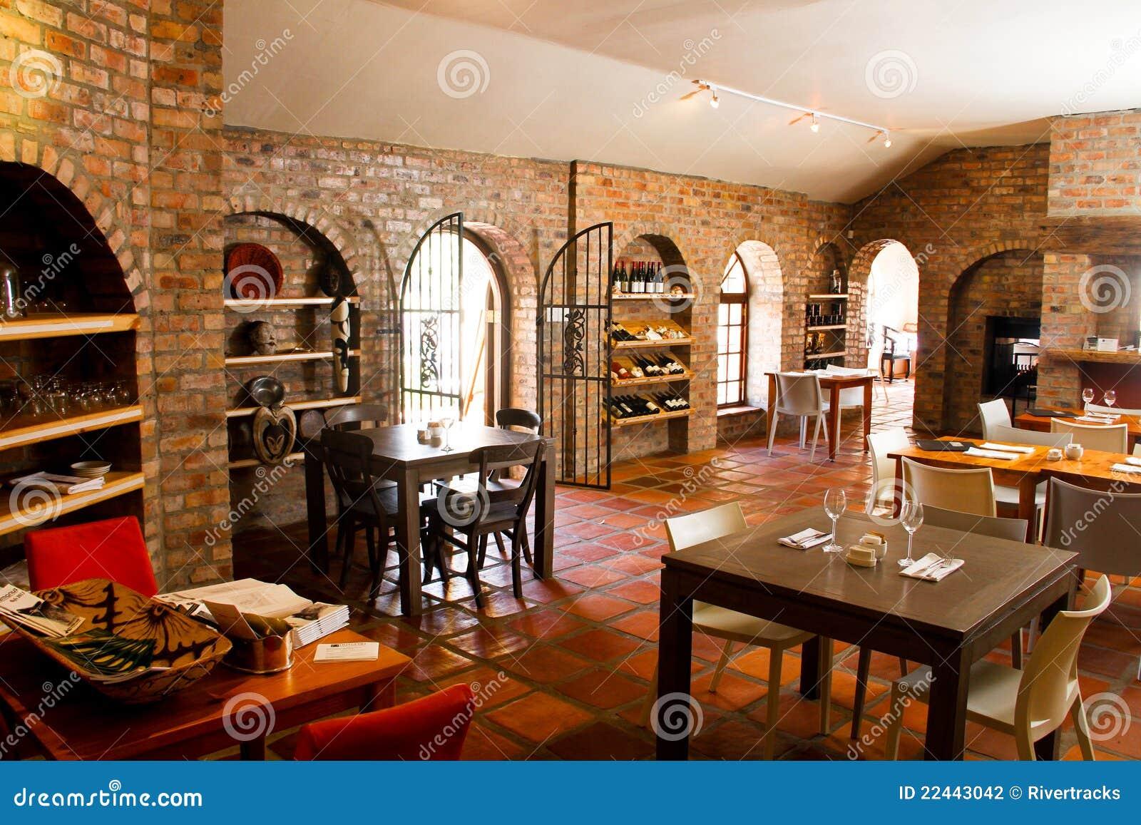 Intérieur de Bistros de restaurant