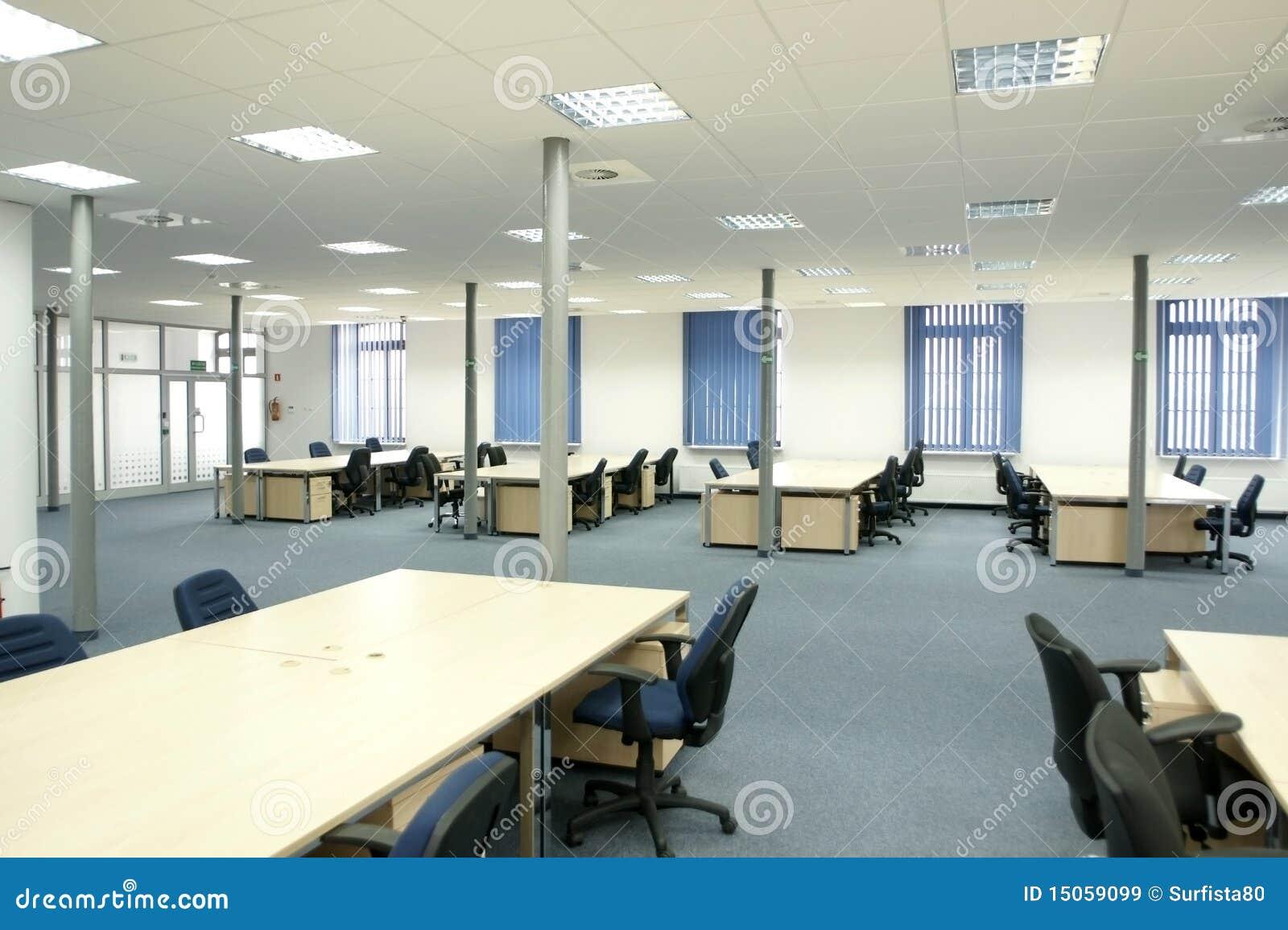 Intérieur de bureau bureau vide moderne de l espace ouvert image