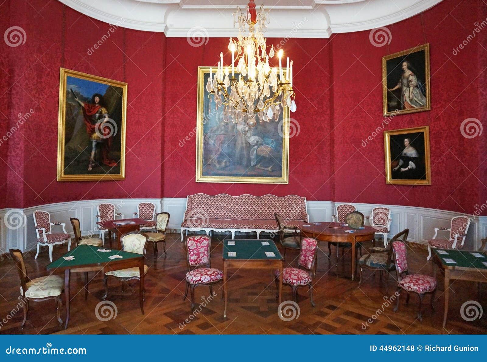Int rieur de ch teau de ch teau de chambord photo stock for Chateau chenonceau interieur