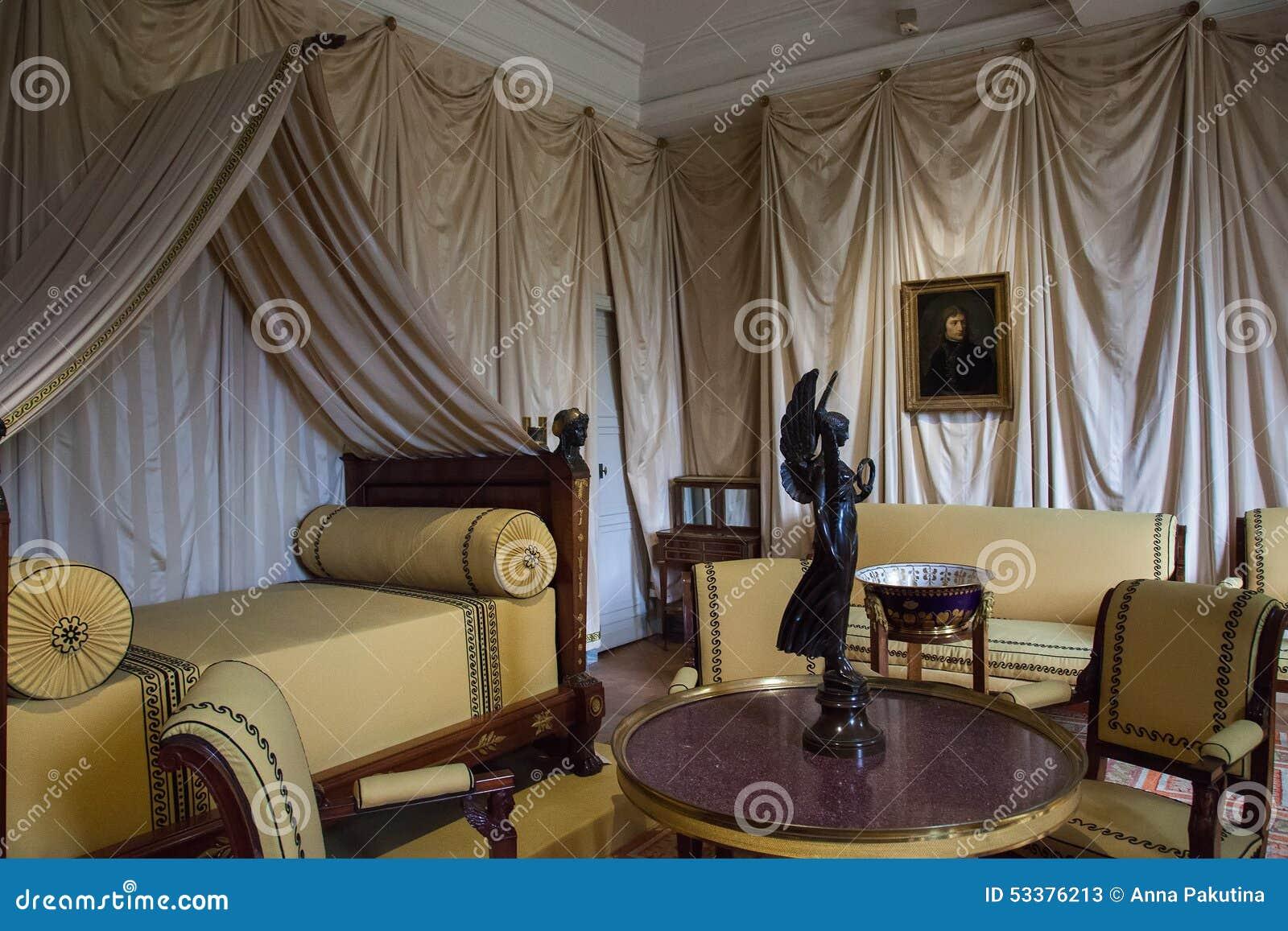 Int rieur de chateau de malmaison france photo stock for France interieur
