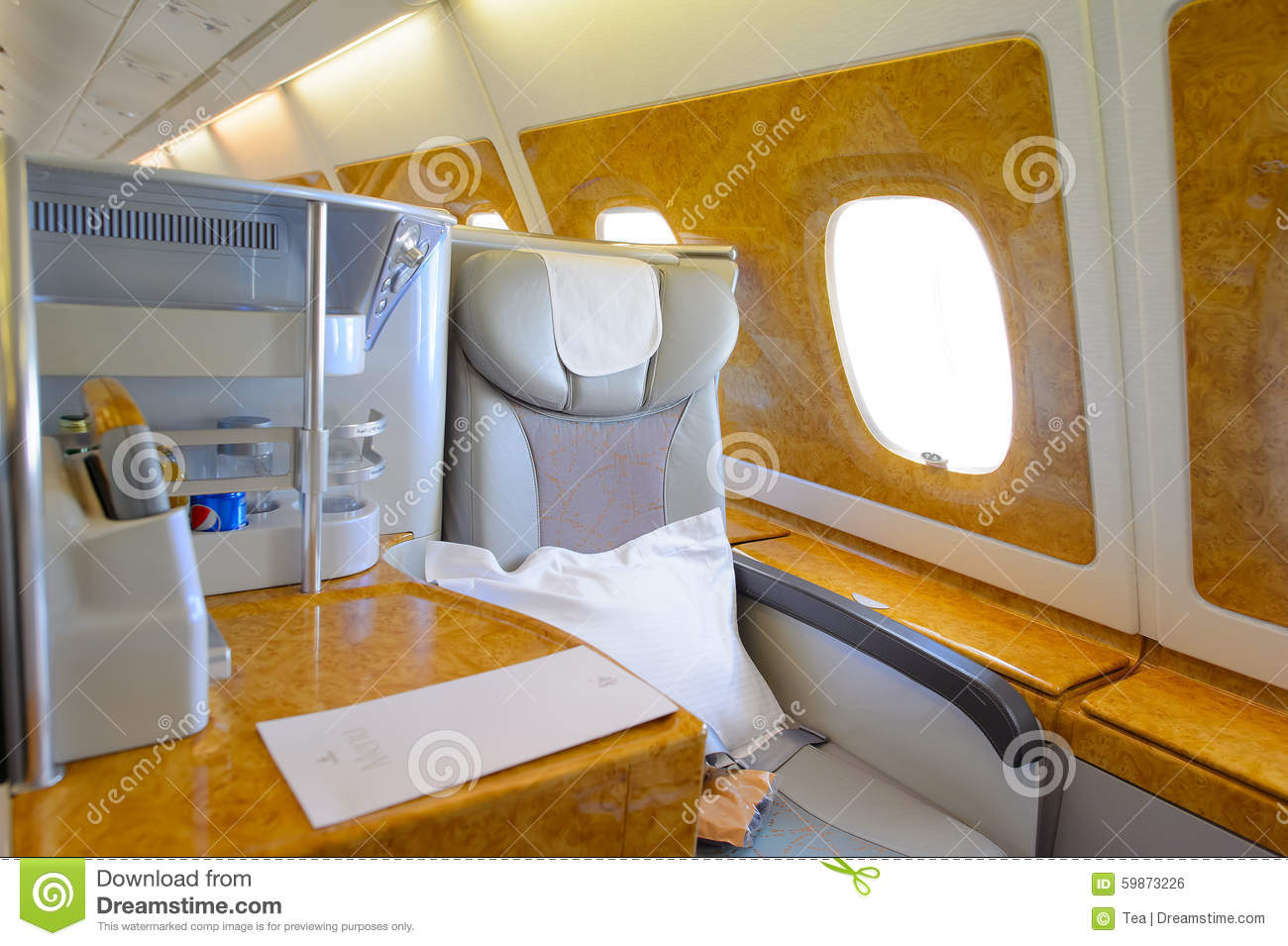 Int rieur de classe d 39 affaires d 39 airbus a380 d 39 mirats for Vol interieur thailande