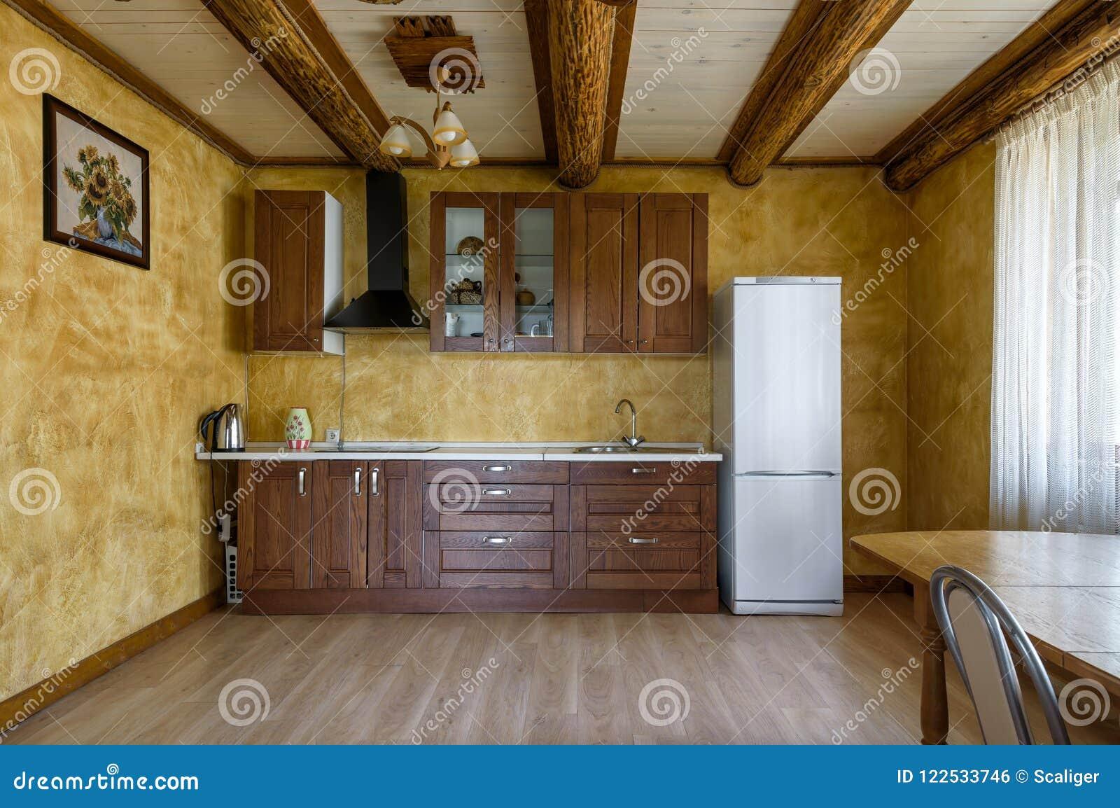 Cuisine Maison Campagne intérieur de cuisine dans la maison de campagne ou l'hôtel