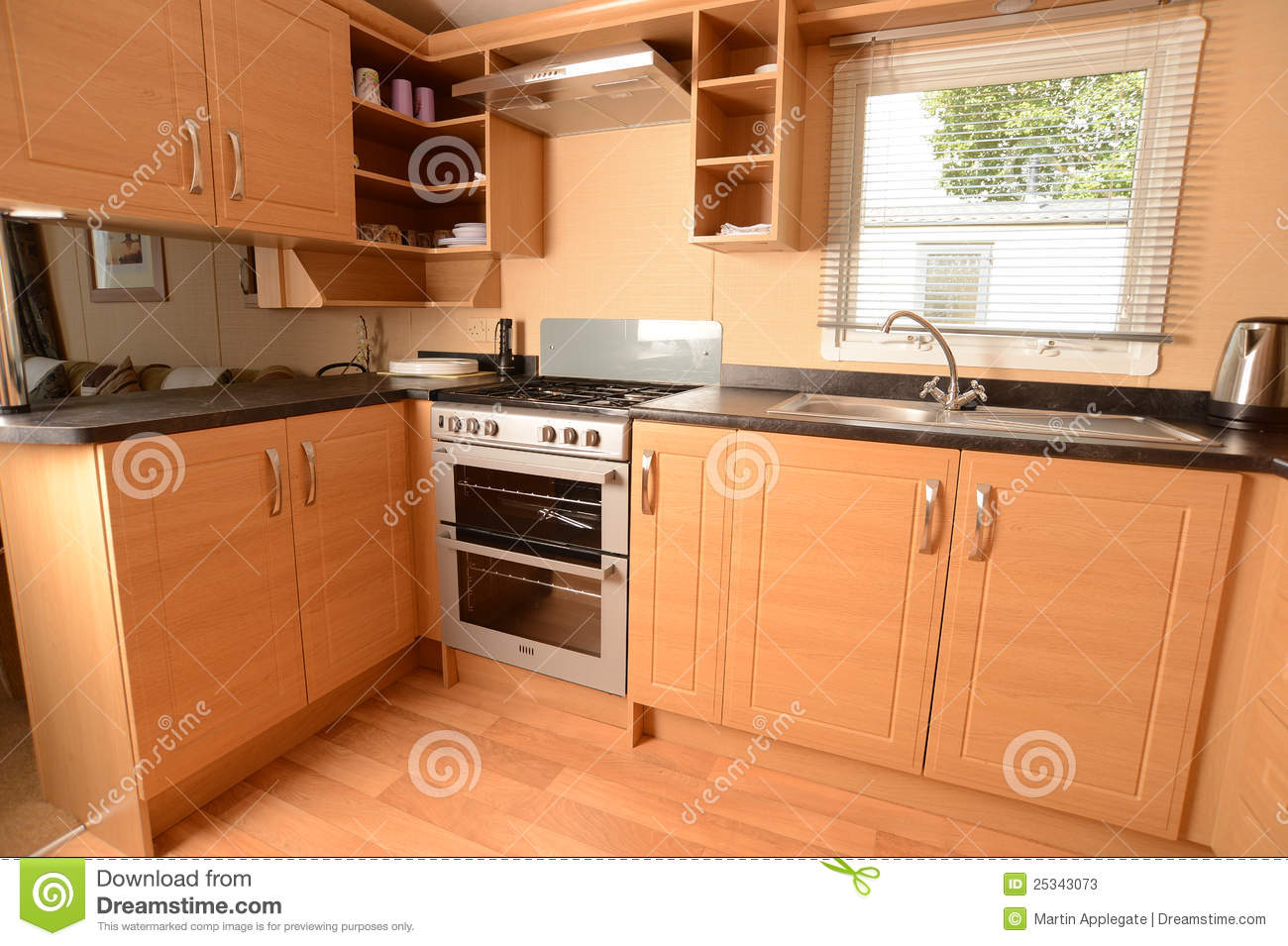 Int rieur de cuisine moderne photos stock image 25343073 for Images des cuisines modernes