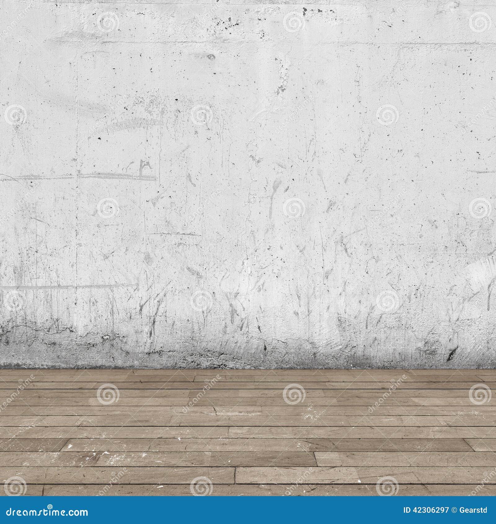int rieur de fond plancher de mur en b ton et en bois. Black Bedroom Furniture Sets. Home Design Ideas