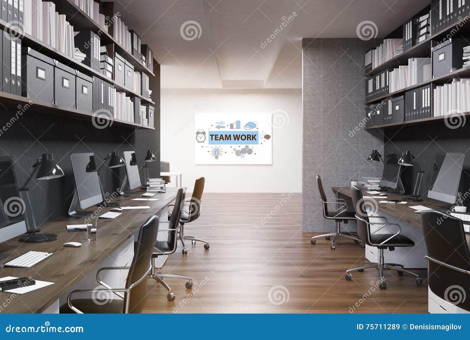 Image D Un Bureau De Travail intérieur de inspiration de bureau de travail d'équipe