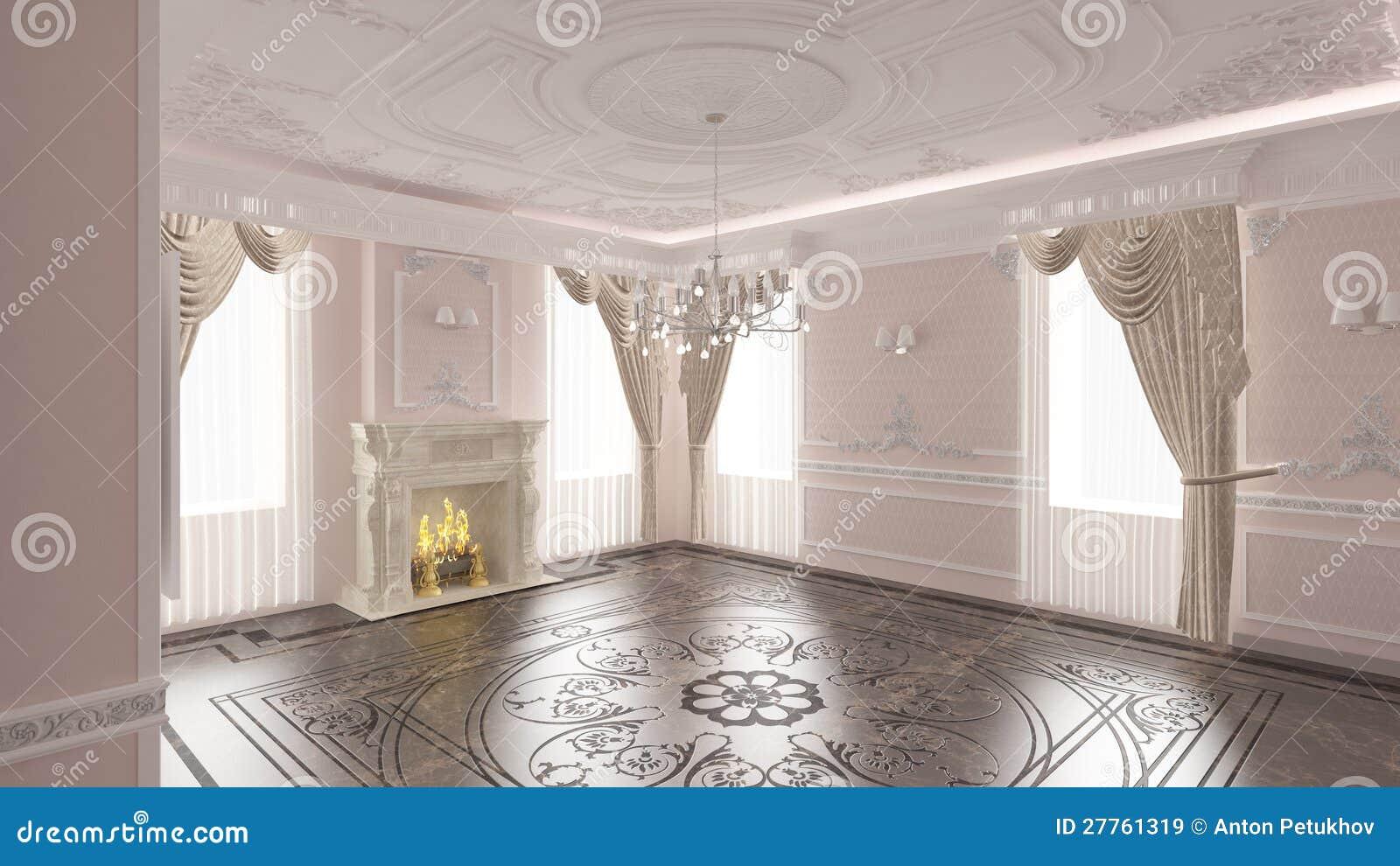 Int rieur de maison classique images libres de droits for Maison classique interieur