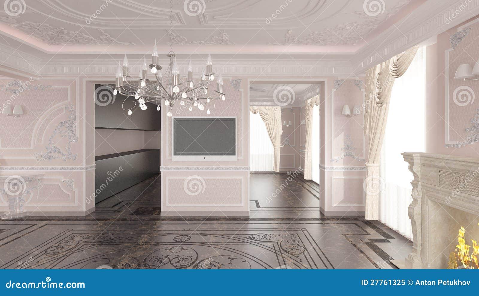 Intérieur de maison classique